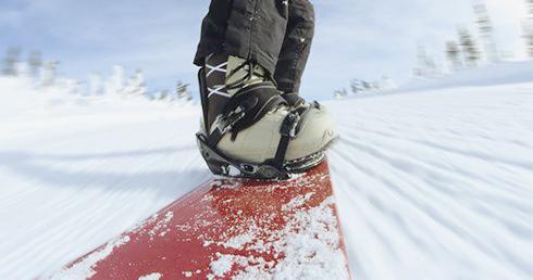 Выбор подходящей обуви для сноуборда