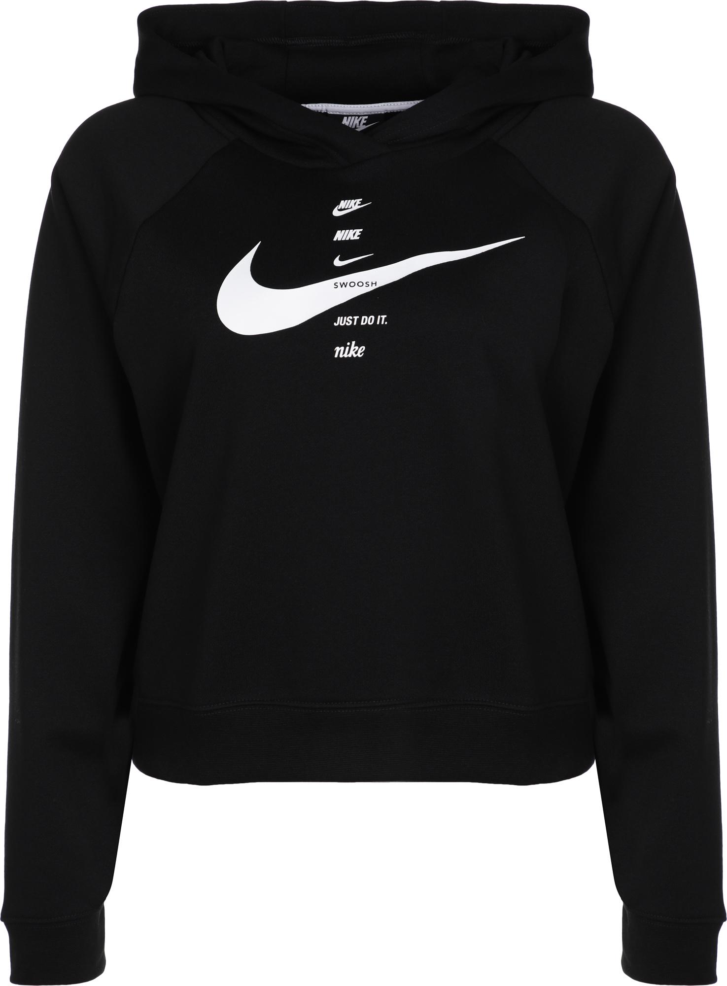 Nike Худи женская Nike Sportswear Swoosh, размер 46-48 худи nike nike ni464ewdxsq6