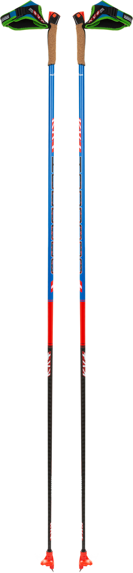 KV+ Палки для беговых лыж KV+ Tornado Plus Carbon kv adula clip