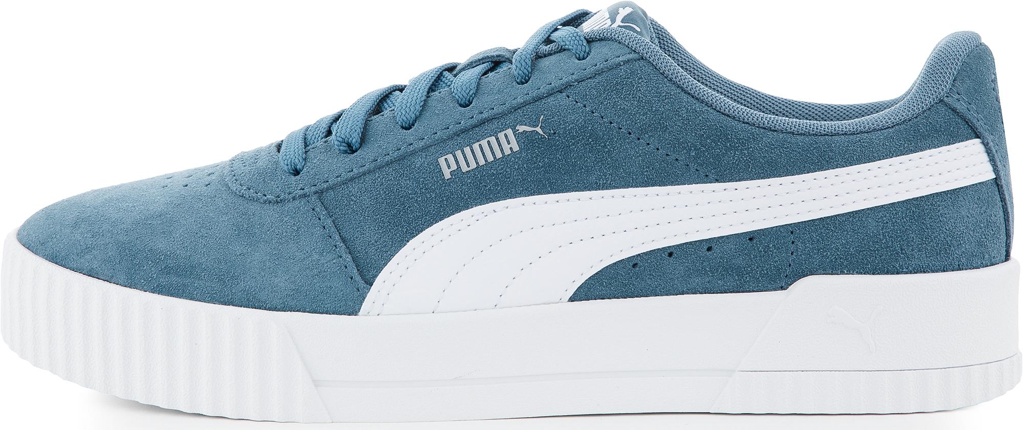 Puma Кеды женские Puma Carina, размер 38 цены онлайн