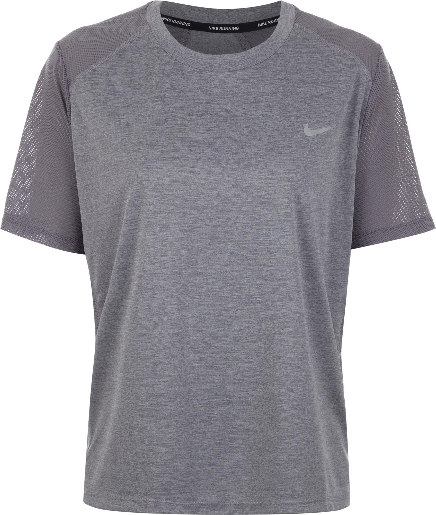 Nike Футболка женская Nike Miler, размер 56-58 nike футболка женская nike miler размер 42 44