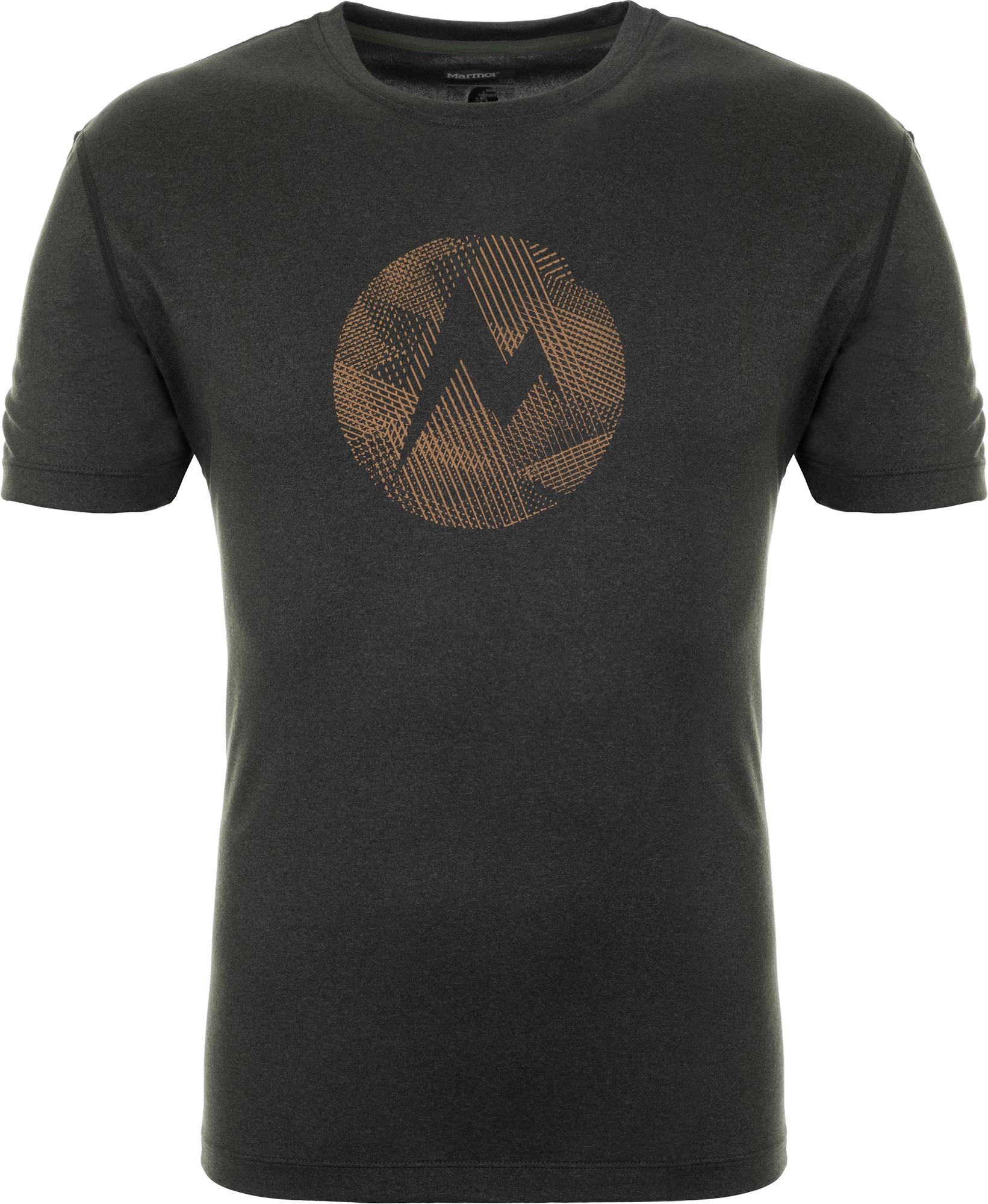 цена на Marmot Футболка мужская Marmot, размер 46-48