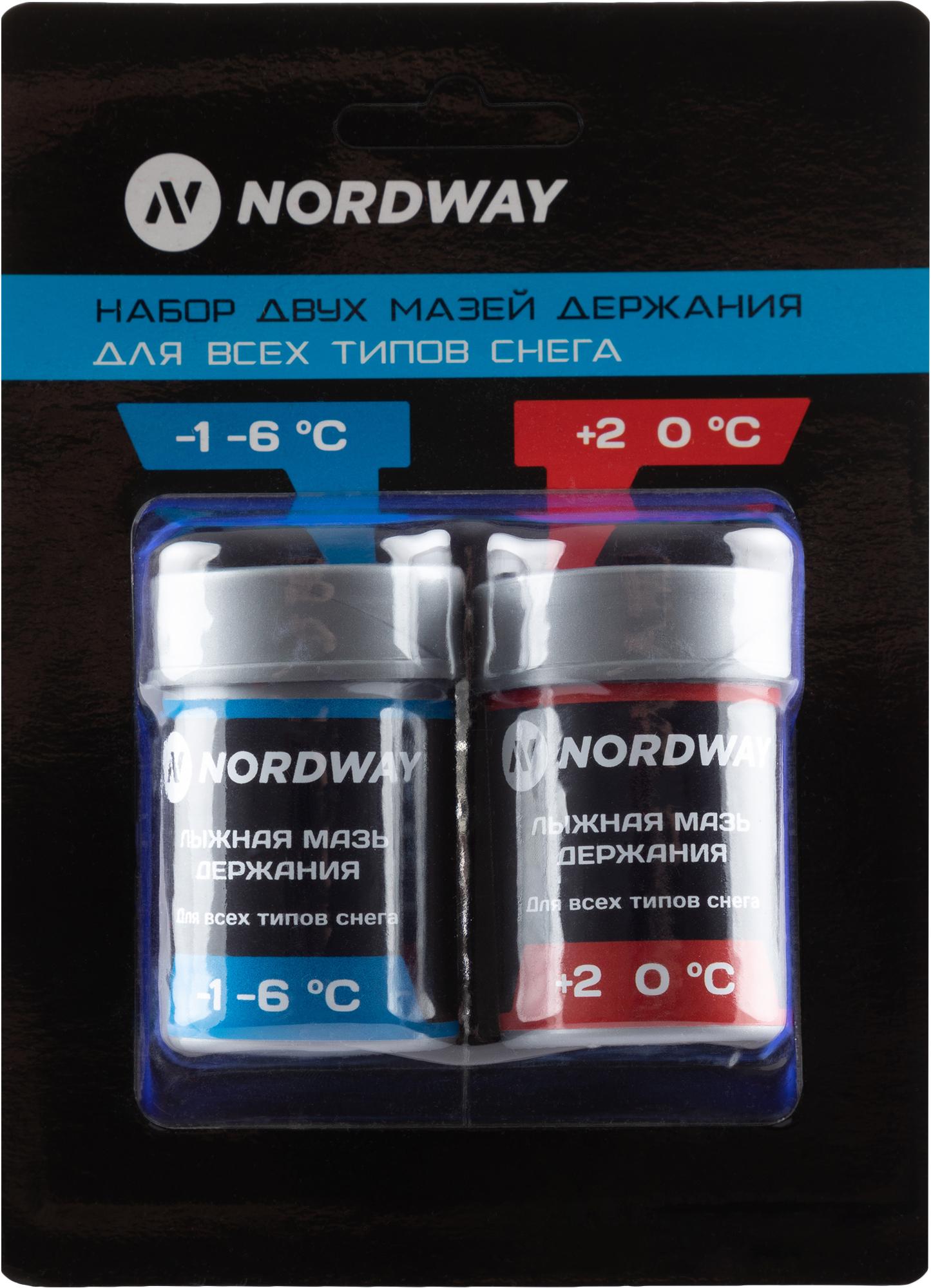 Nordway Набор лыжный: мазь для лыж Nordway, 2 шт.