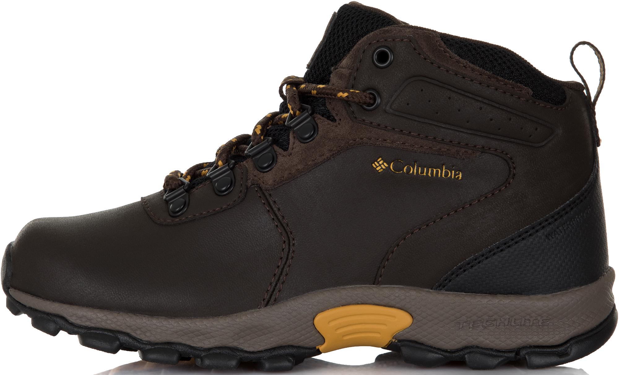 Columbia Ботинки для мальчиков Columbia Youth Newton Ridge, размер 31,5 ботинки мужские columbia newton ridge plus ii suede wp цвет зеленый 1746411 213 размер 9 42