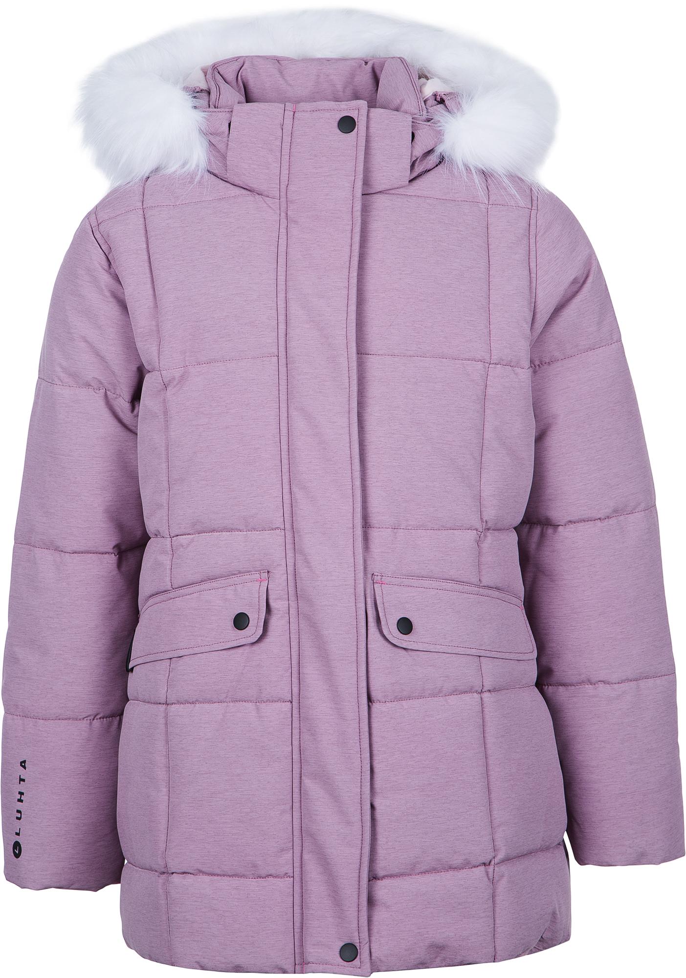 Luhta Куртка утепленная для девочек Luhta Lepola, размер 164 куртка утепленная luhta luhta lu692ewcovk3