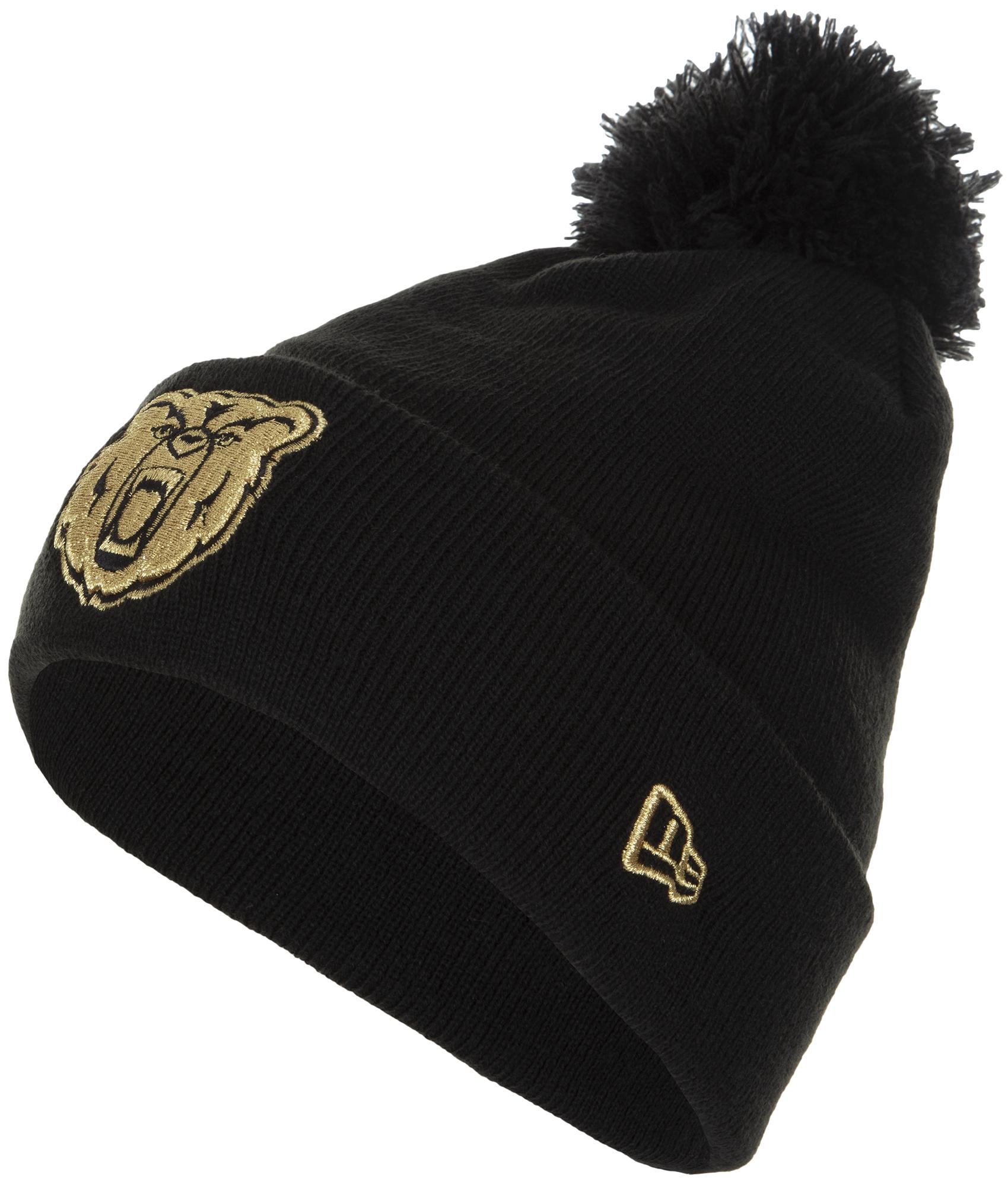 New Era Шапка New Era Lic 883 Gold Bear Knit new era шапка new era lic 801 essential cuff knit размер без размера
