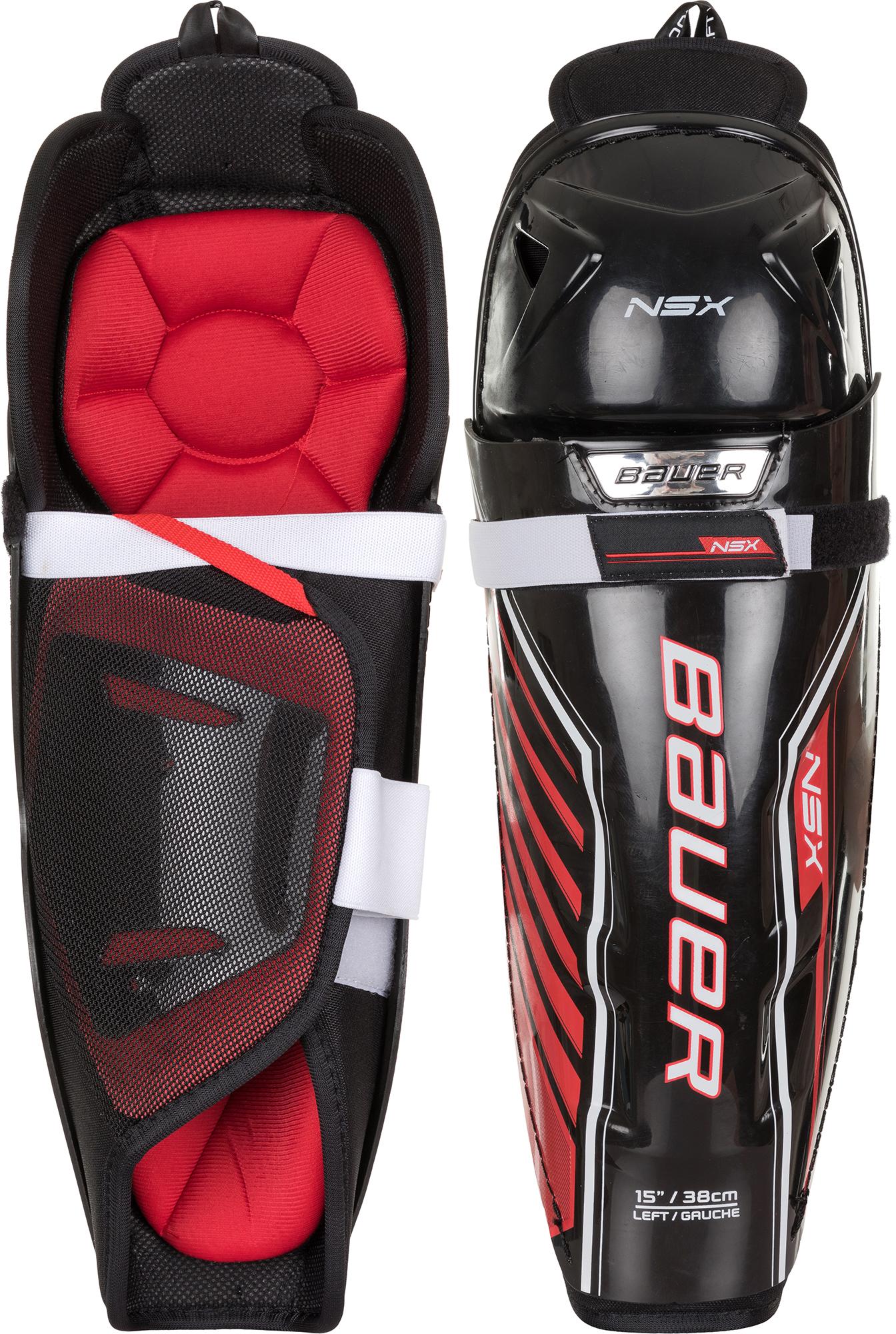 Bauer Щитки хоккейные Bauer NSX, размер 175-185 хоккейные щитки bauer vapor x 100 sr