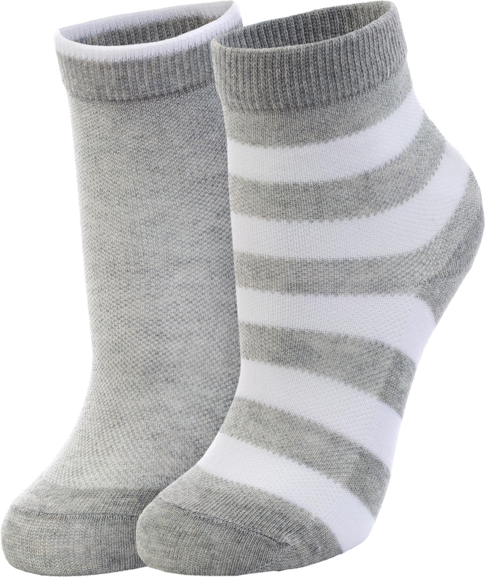 белье acoola носки детские 2 пары цвет ассорти размер 16 18 32114420052 Wilson Носки для мальчиков Wilson, 2 пары, размер 25-27