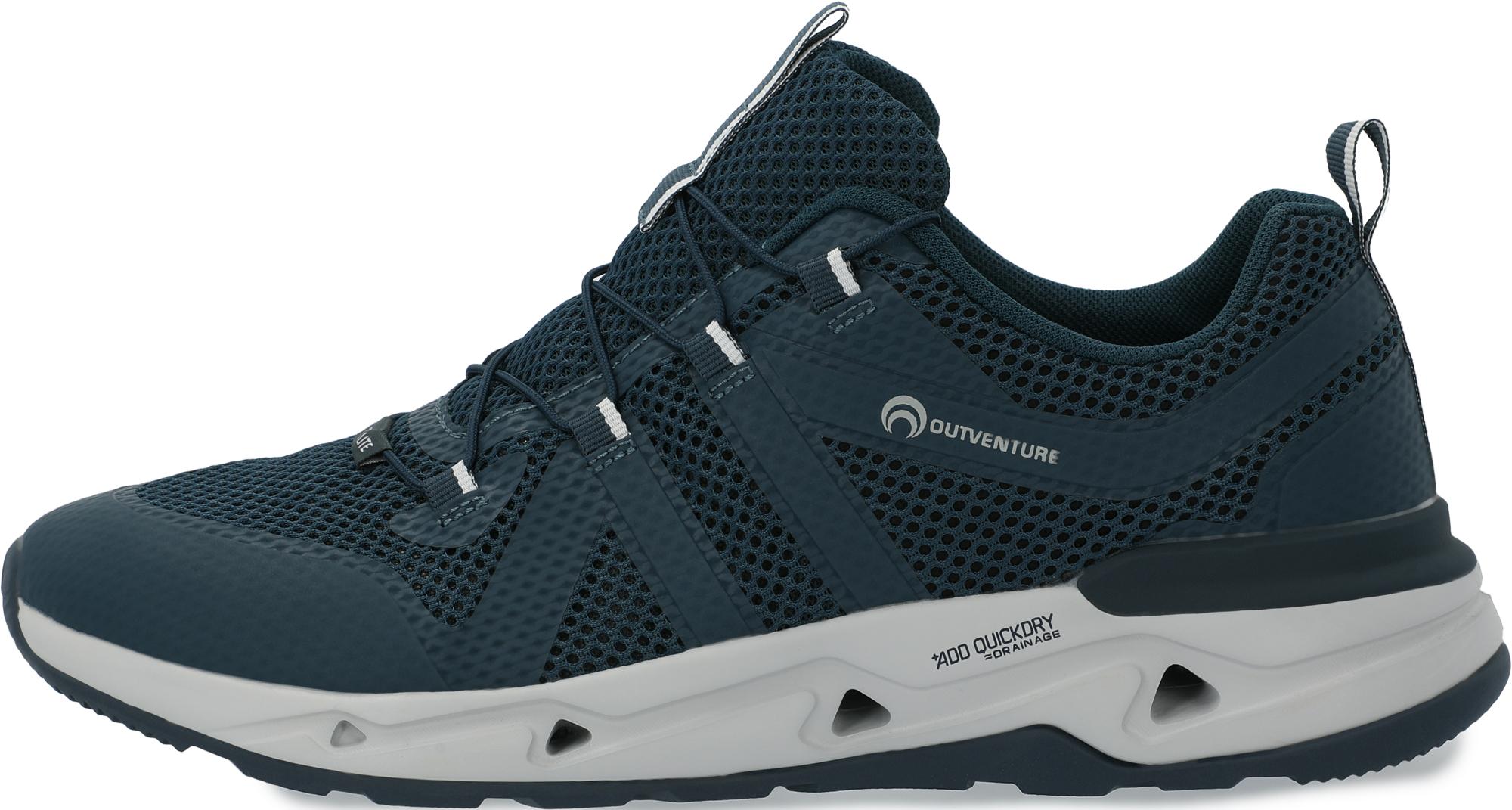 Outventure Полуботинки мужские Outventure Watercross, размер 44 полуботинки sairus 32606370 44 черный 44 размер