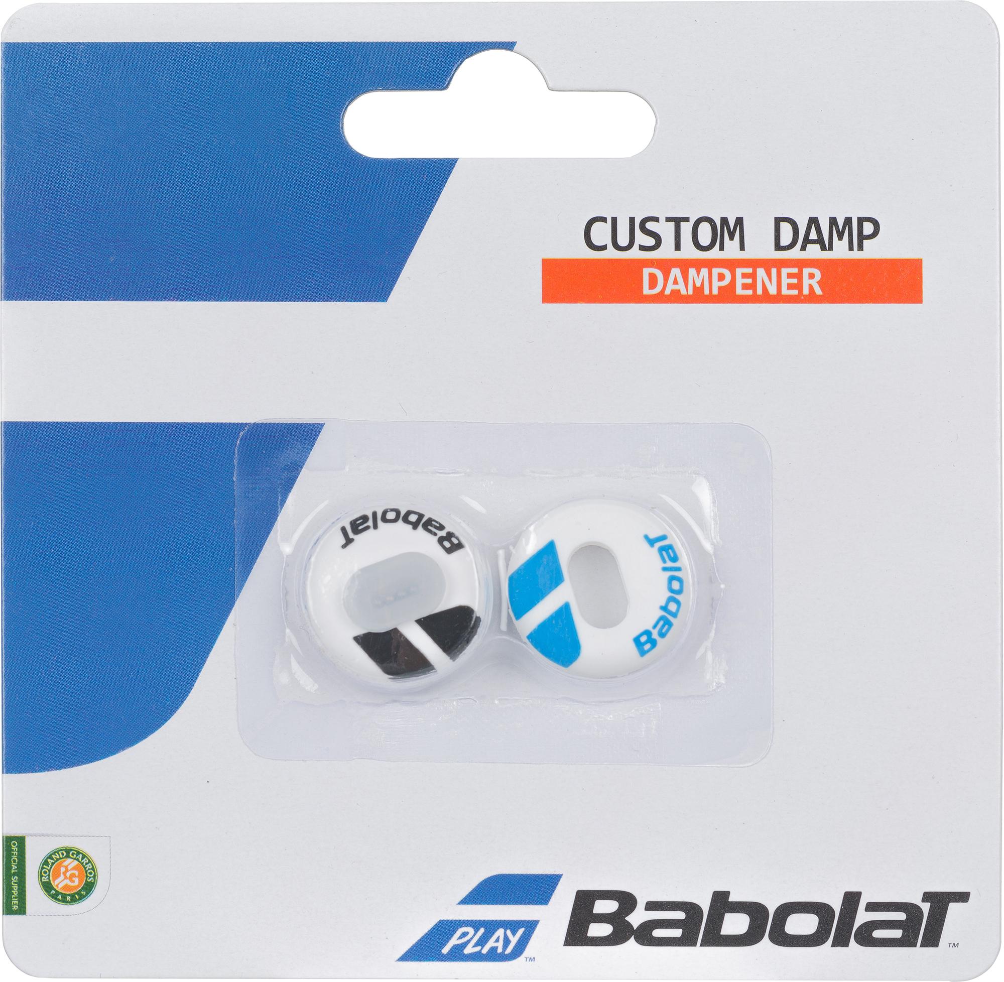 Babolat Виброгаситель Babolat Custom Damp x2 babolat виброгаситель babolat flag damp x 2 размер без размера