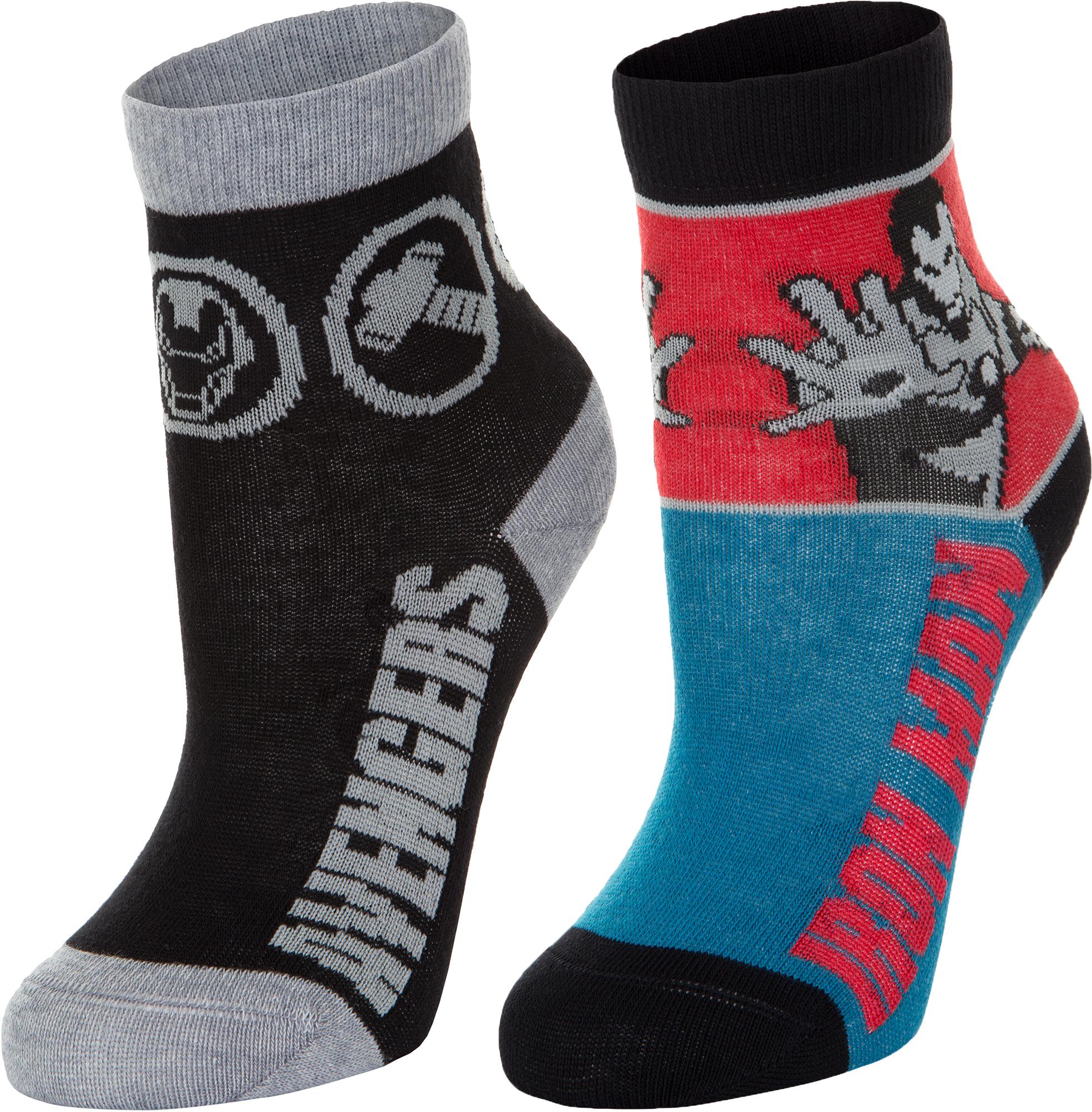 белье acoola носки детские 2 пары цвет ассорти размер 16 18 32114420052 Demix Носки для мальчиков Demix, 2 пары, размер 34-36