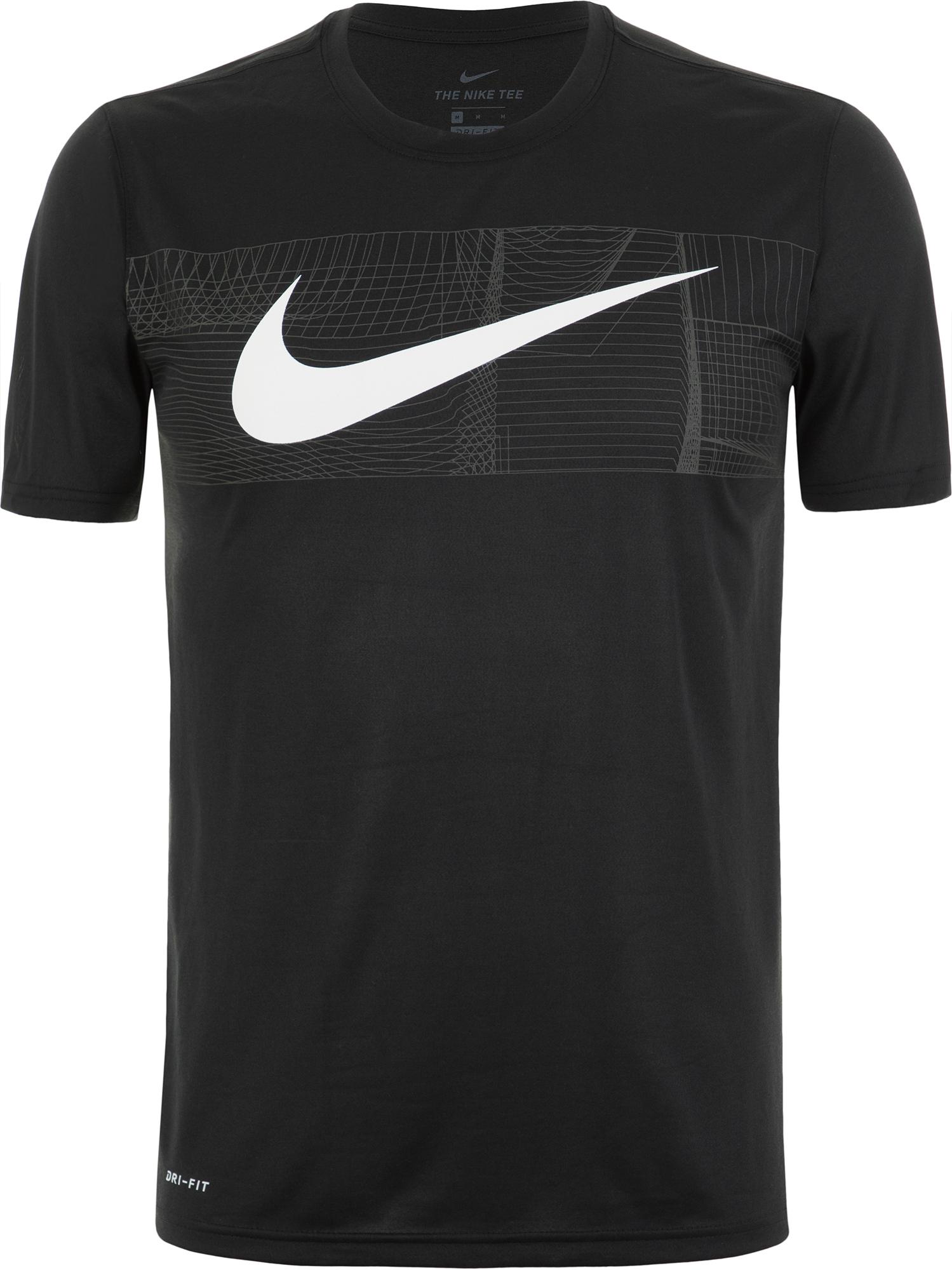Nike Футболка мужская Nike Dry, размер 52-54 все цены