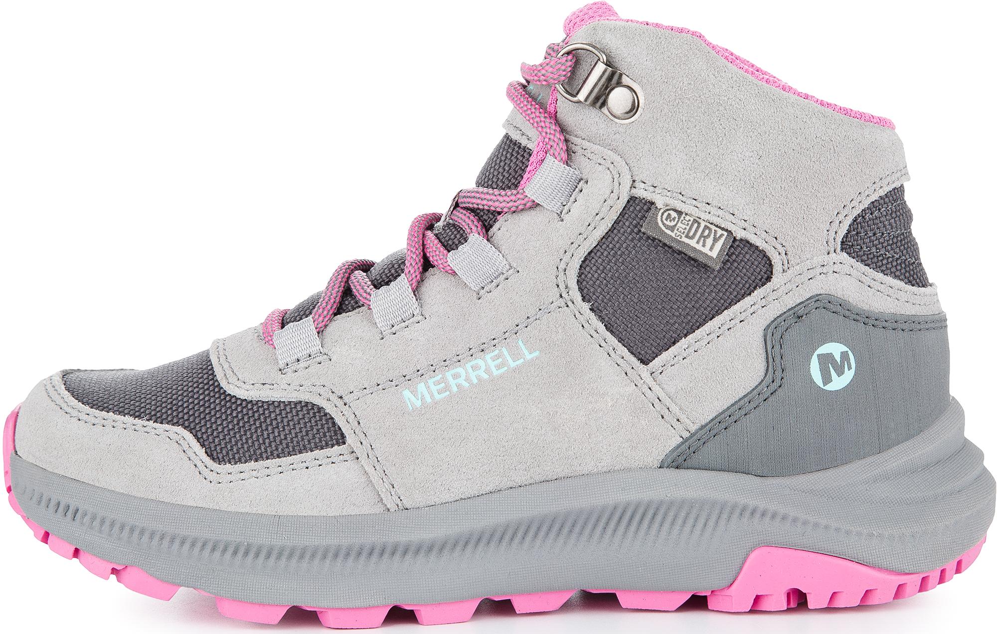 Merrell Ботинки для девочек M-Ontario, размер 40,5