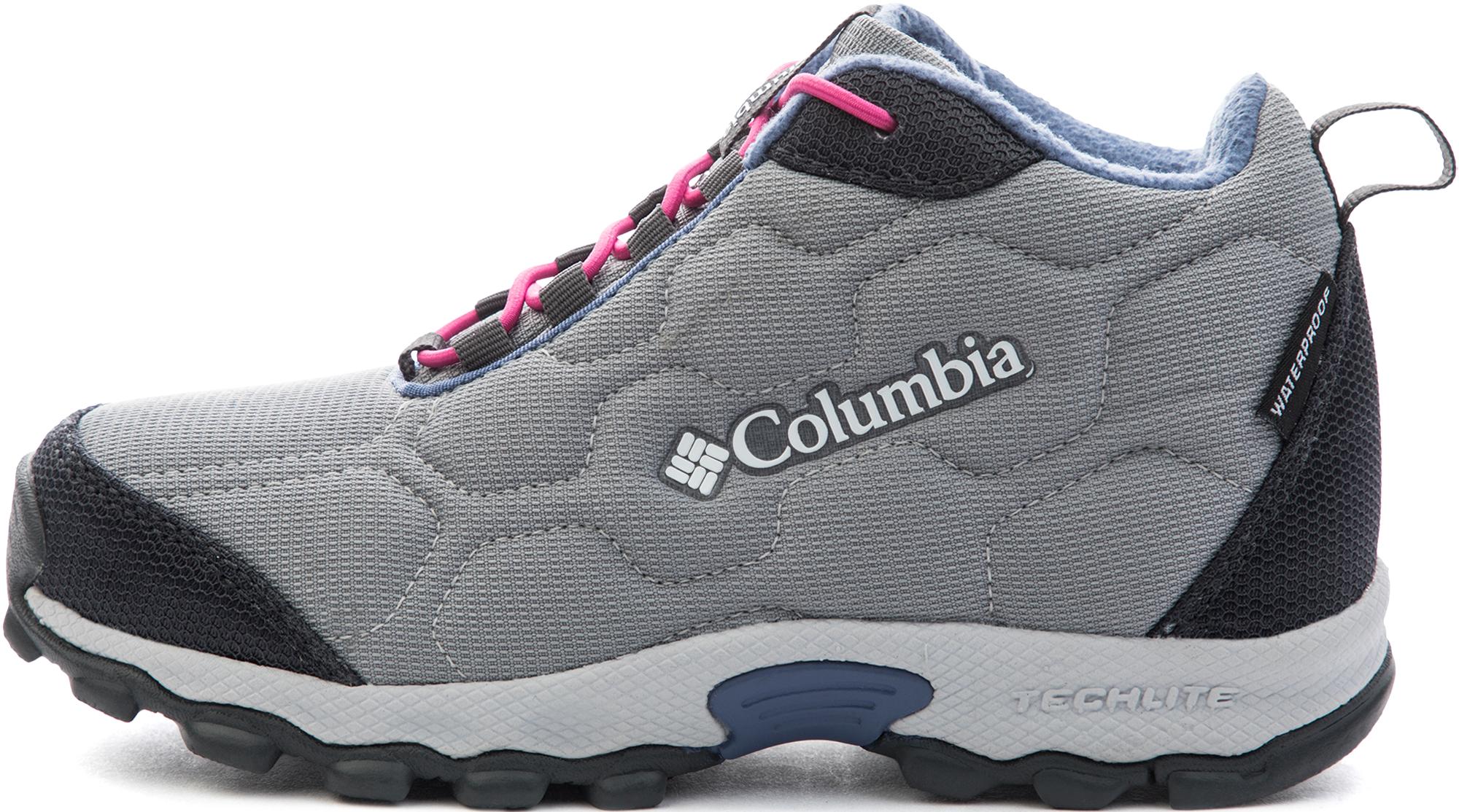 Columbia Ботинки утепленные для девочек Columbia Youth Firecamp 2, размер 37.5 columbia ботинки утепленные мужские columbia firecamp размер 43