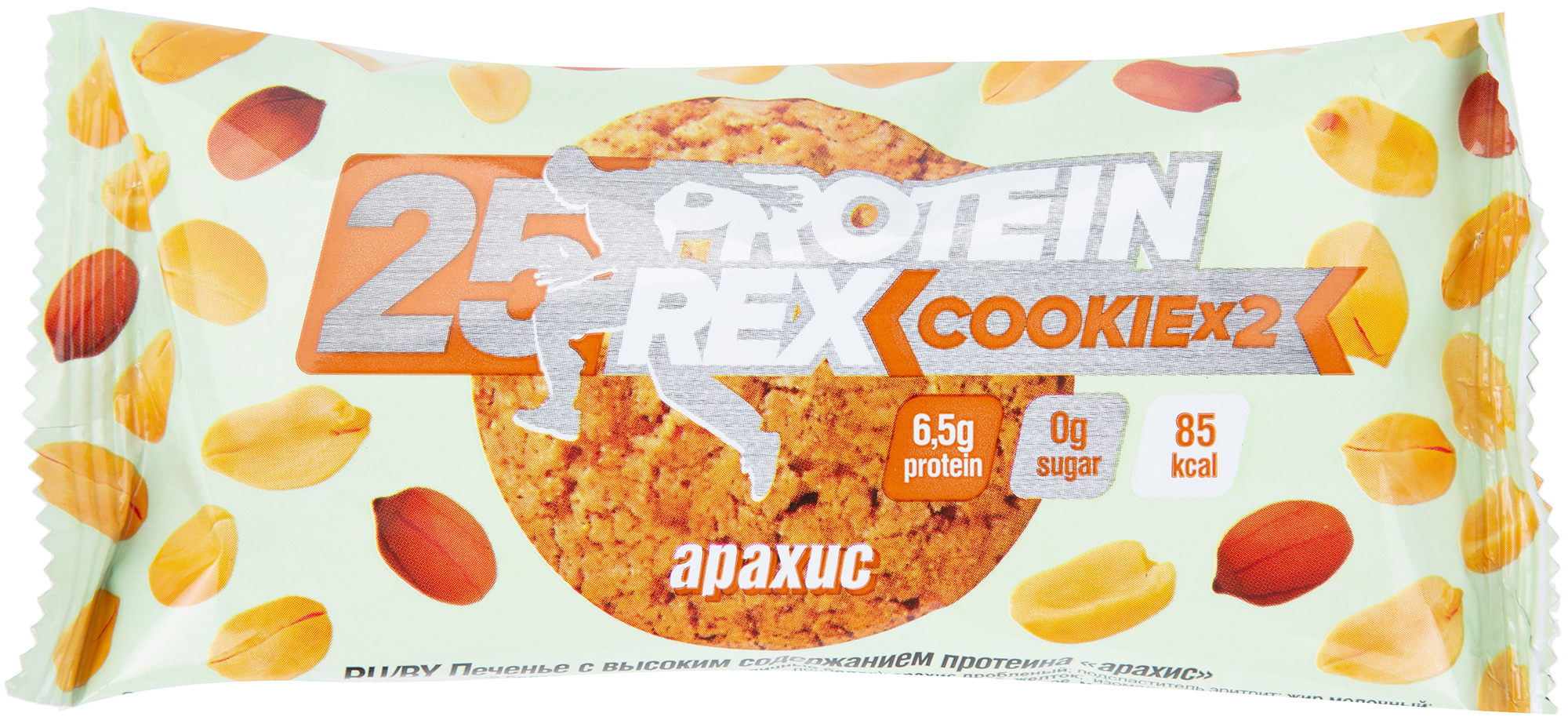 ProteinREX Печенье арахис