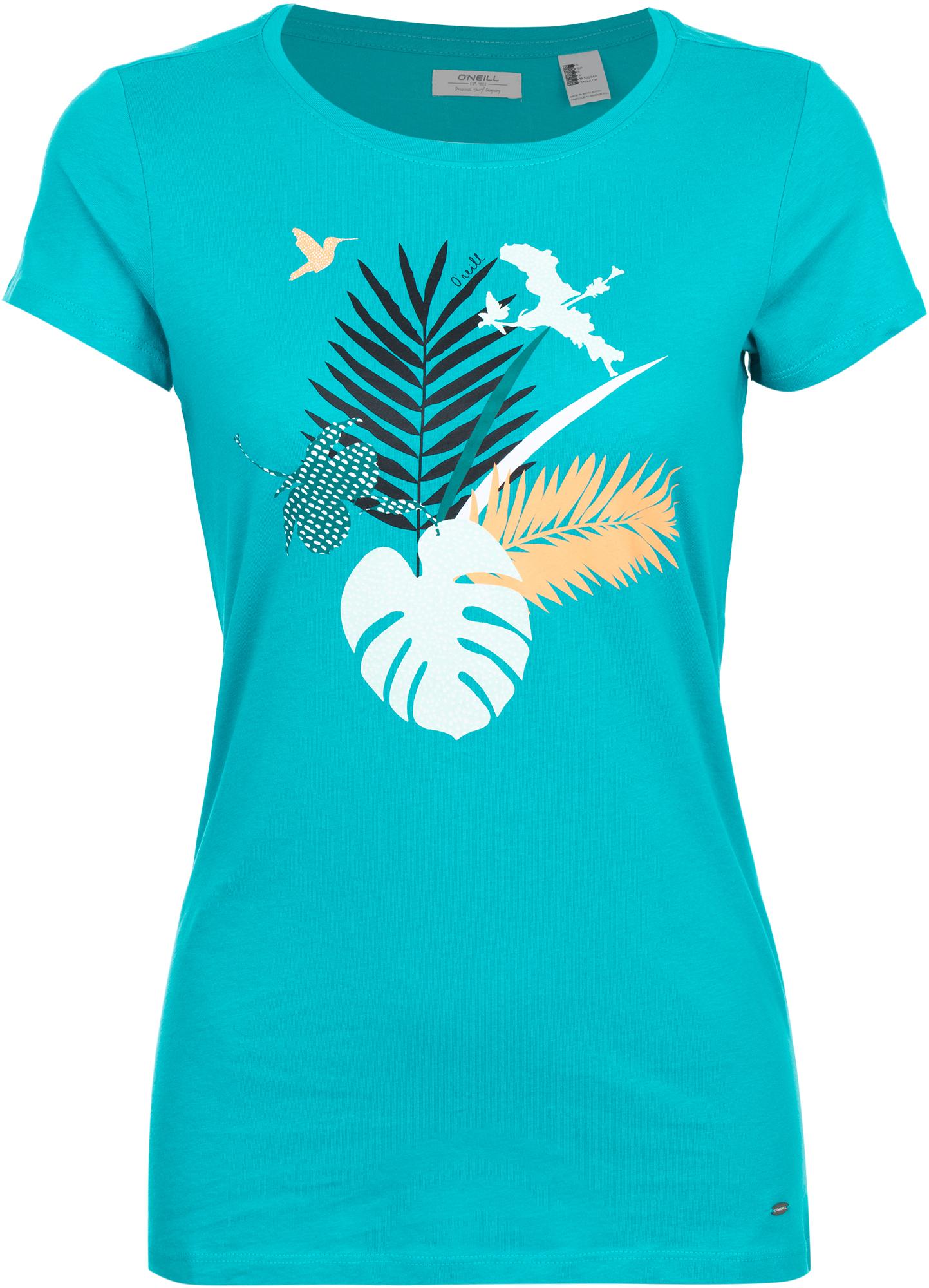 O'Neill Футболка женская O'Neill Bird Palm Graphic, размер 50-52
