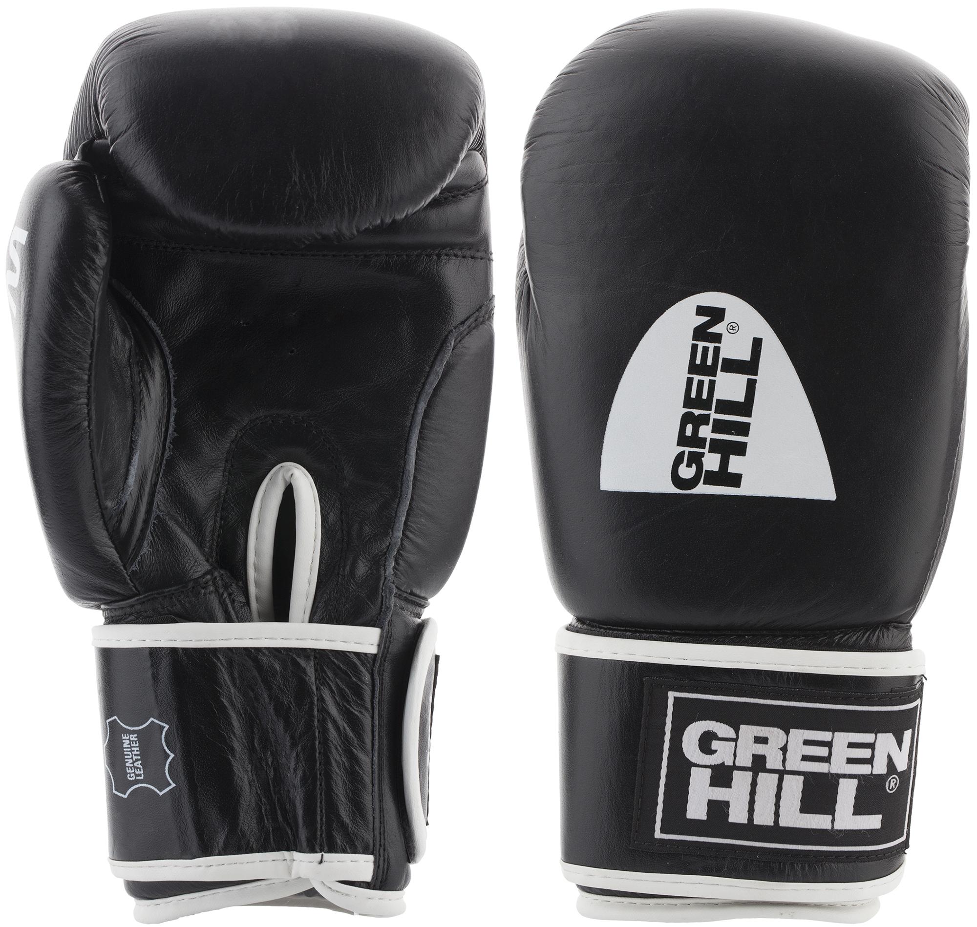 Green Hill Перчатки боксерские Green Hill Gym, размер 14 oz