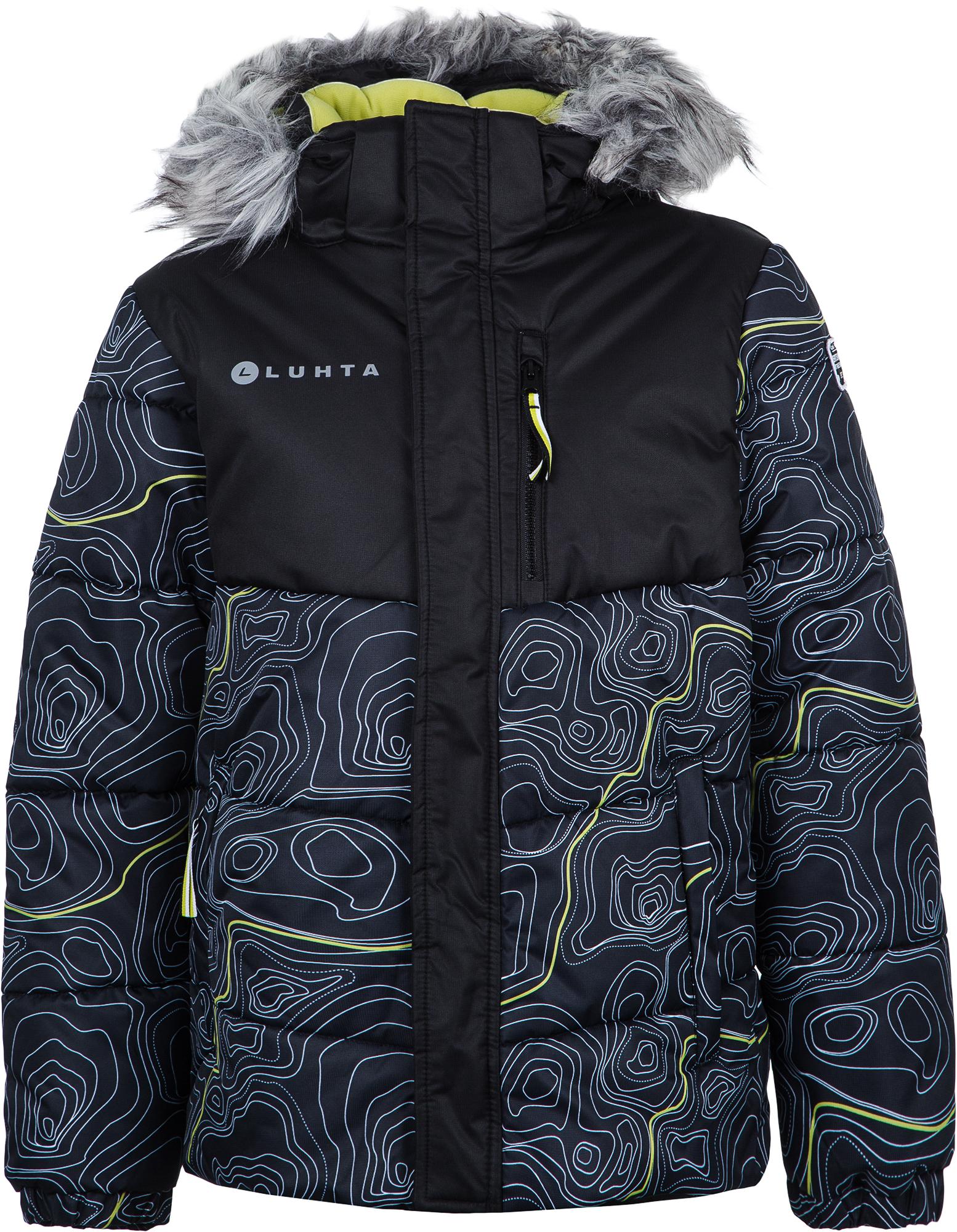 Luhta Куртка утепленная для мальчиков Luhta Lusi, размер 140 куртка утепленная luhta luhta lu692ewcovk3