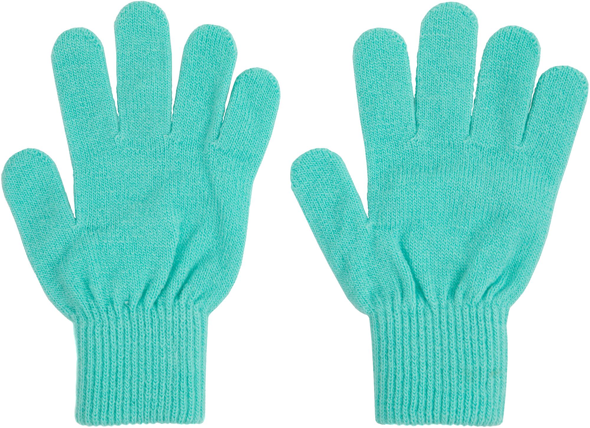 цена Demix Перчатки вязаные для девочек Demix, размер 18 онлайн в 2017 году
