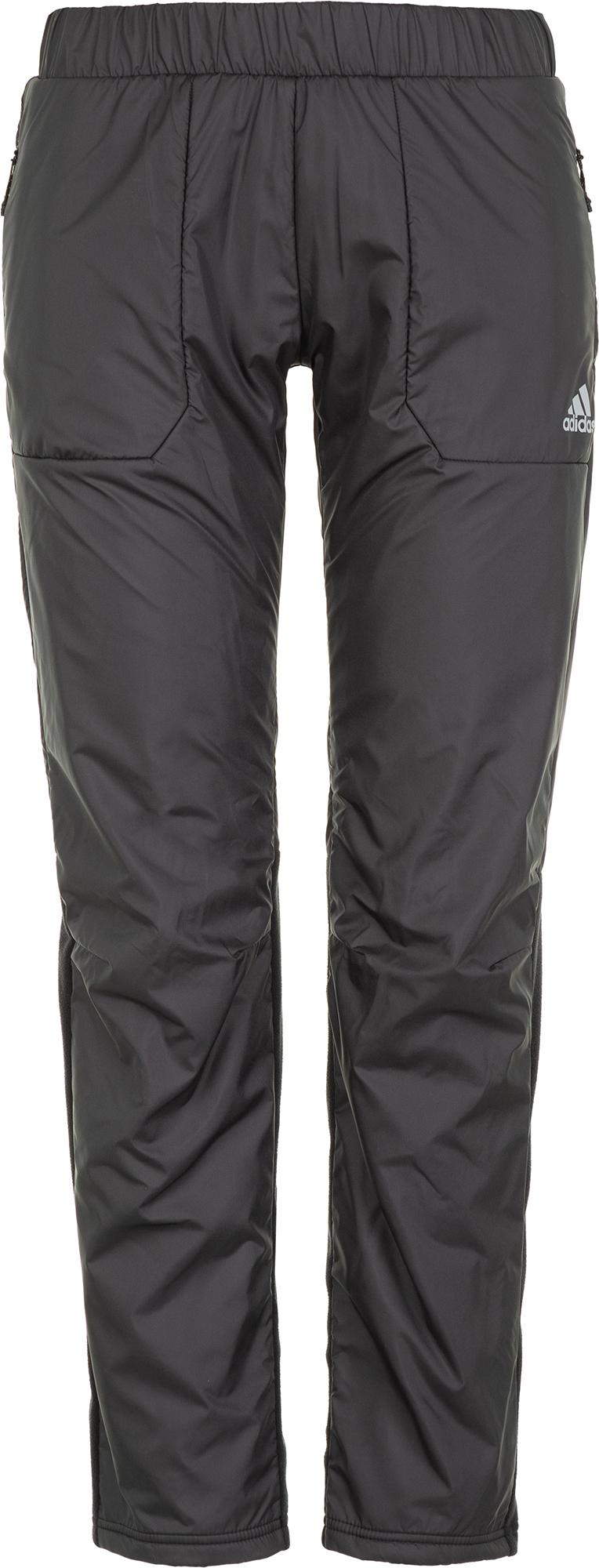 Adidas Брюки утепленные женские Windfleece, размер 54-56
