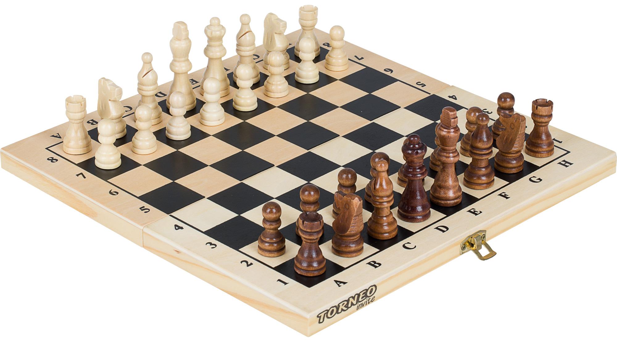 Torneo Настольная игра 2 в 1: шахматы, шашки