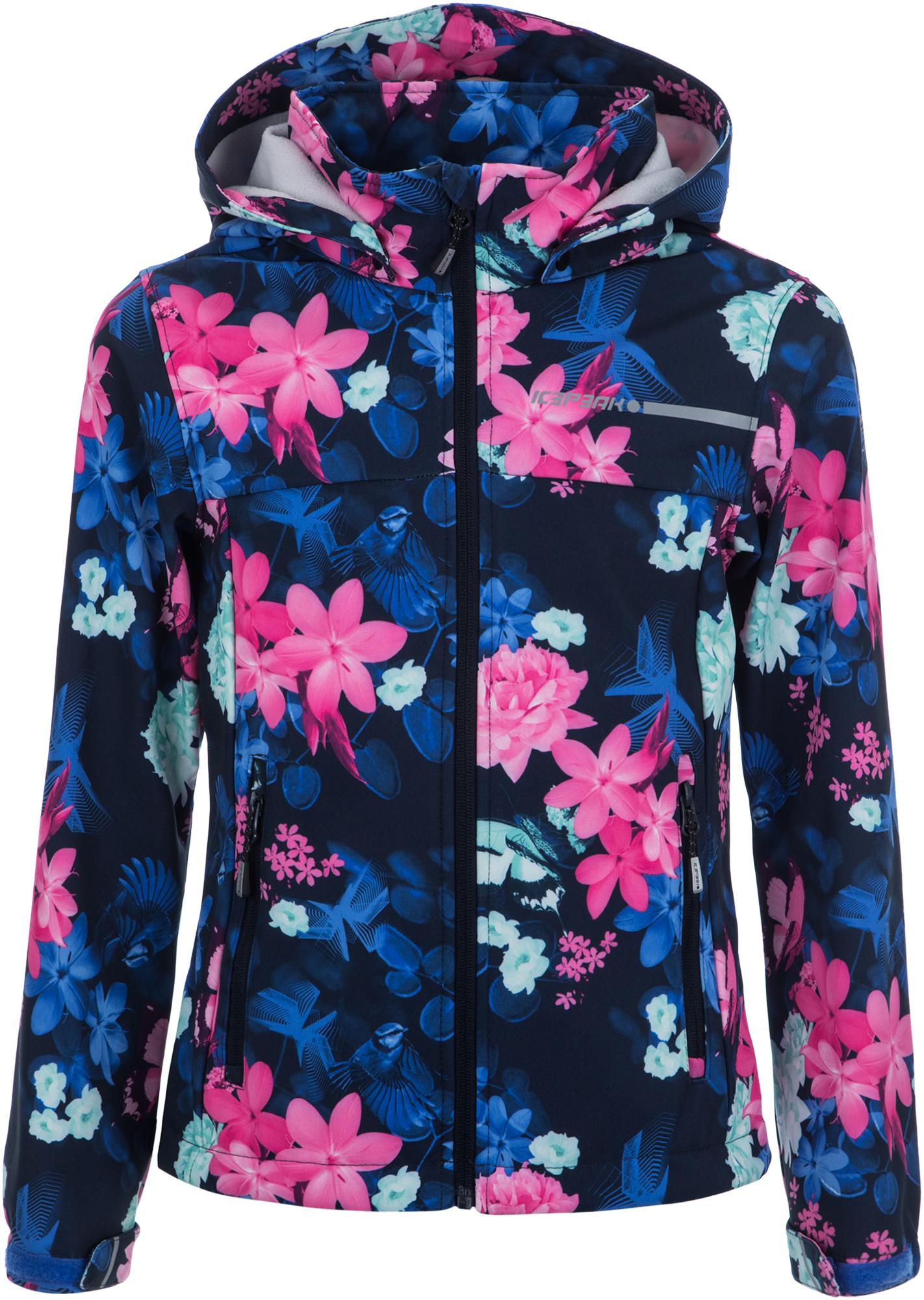 IcePeak Куртка софт-шелл для девочек IcePeak Tamara Jr, размер 164 icepeak шапка для девочек icepeak размер без размера