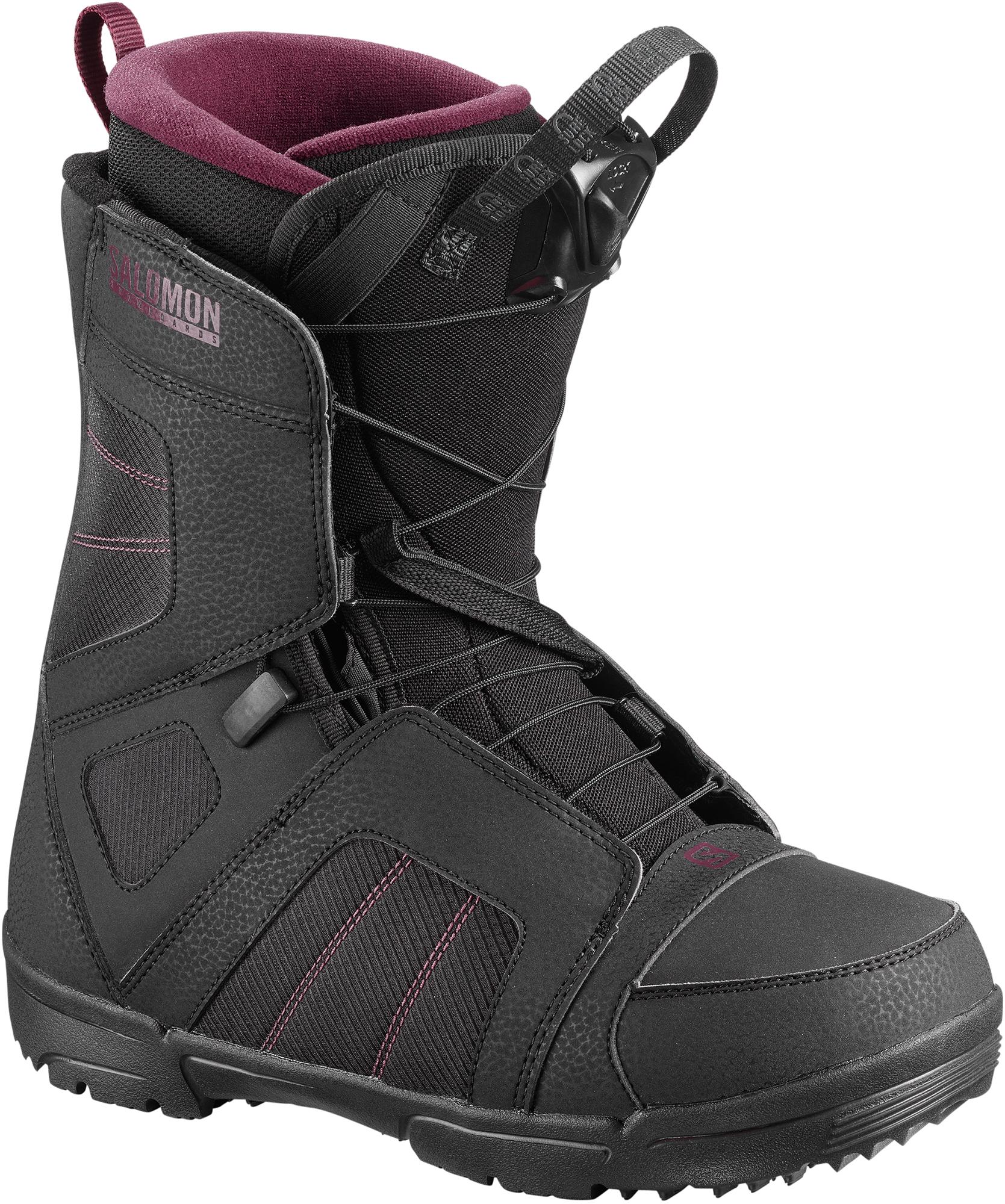все цены на Salomon Сноубордические ботинки женские Salomon Scarlet, размер 38,5