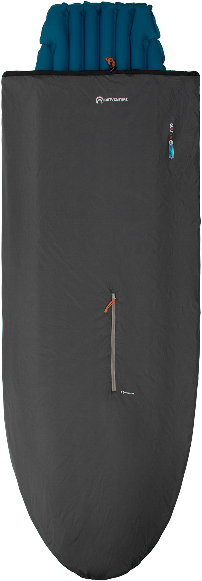 Outventure Спальный мешок Outventure Trek quilt +15 спальный мешок atemi dream
