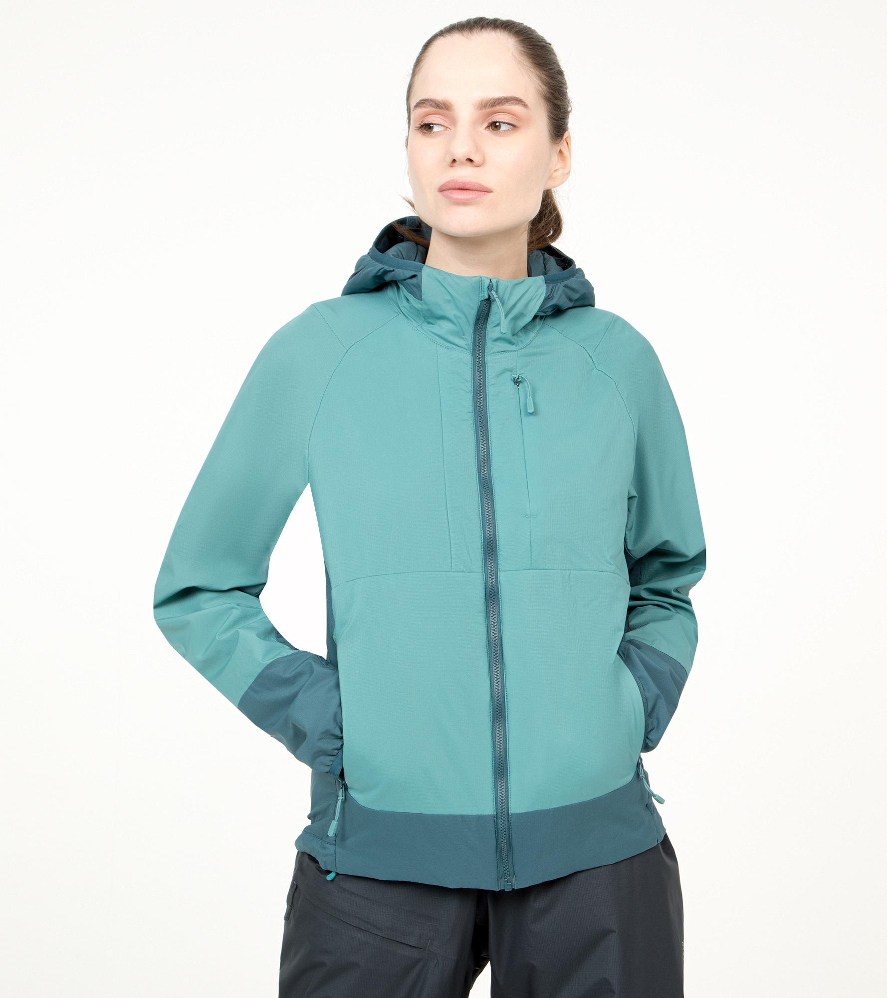 Mountain Hardwear Куртка утепленная женская Mountain Hardwear Kor Cirrus™ Hybrid, размер 48 mountain hardwear куртка утепленная мужская mountain hardwear radian размер 56