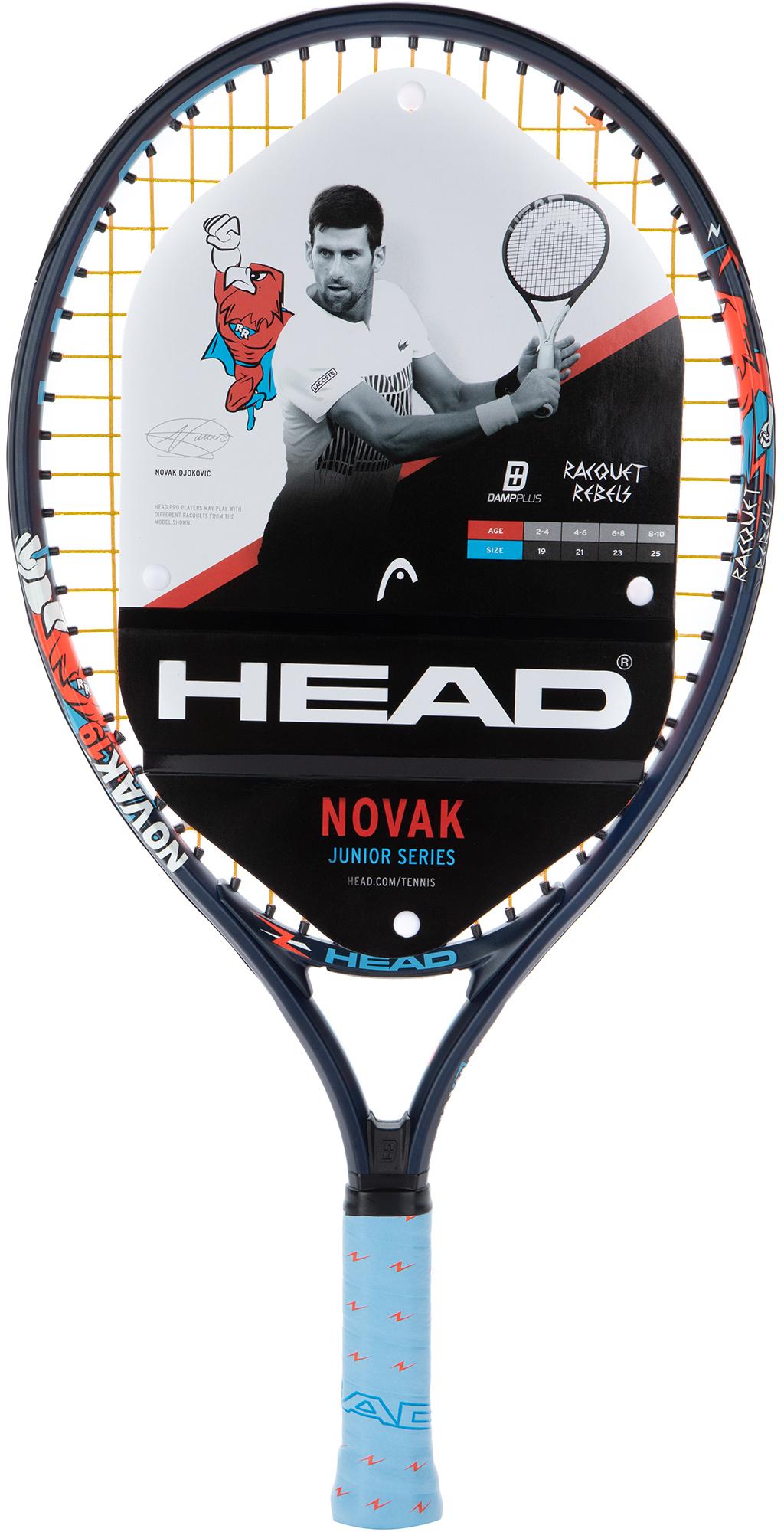 Head Ракетка для большого тенниса детская Novak 19