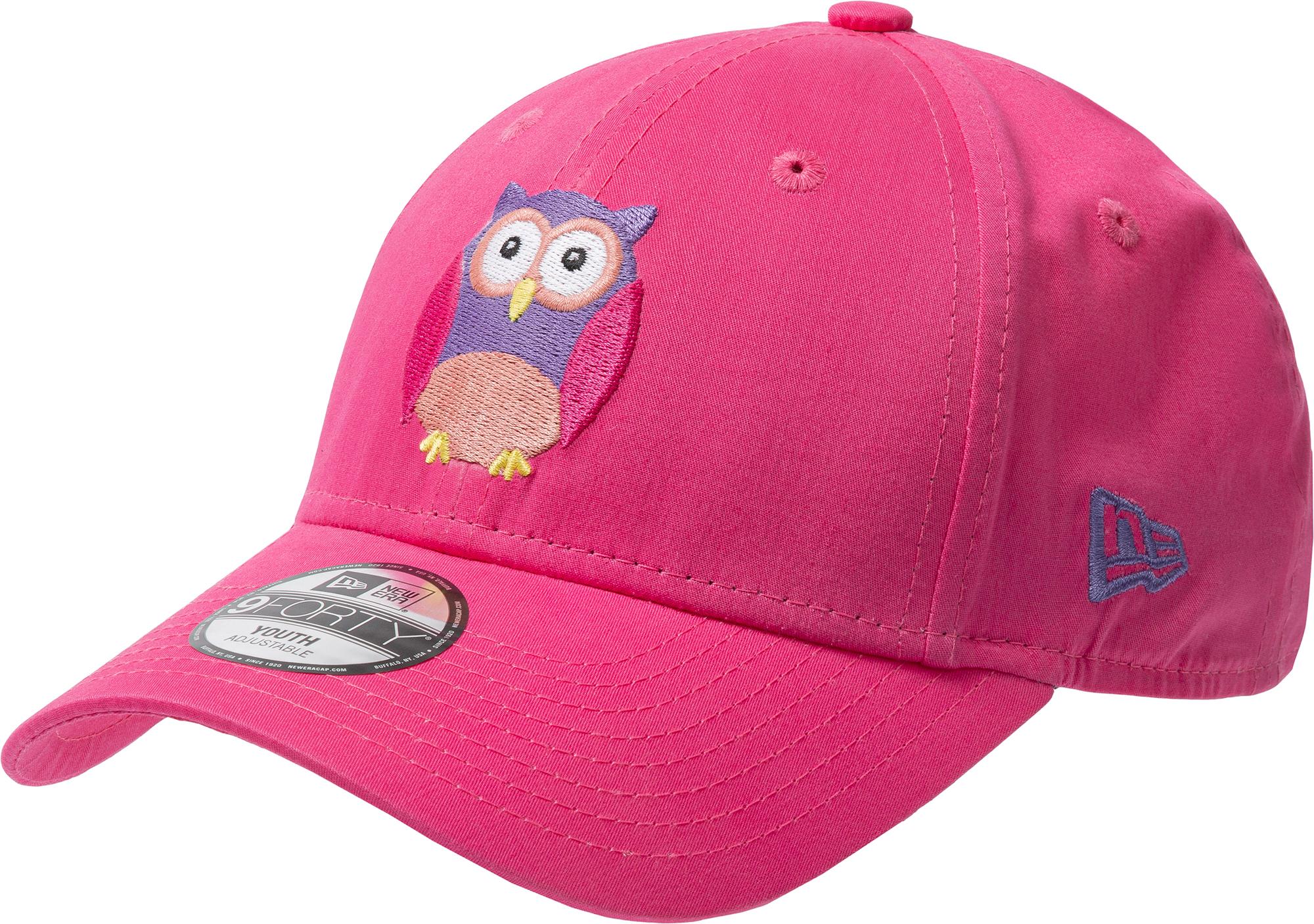 New Era Бейсболка для девочек New Era OWL 940, размер 54-55 new era бейсболка для девочек new era butterfly 940 размер 54 55