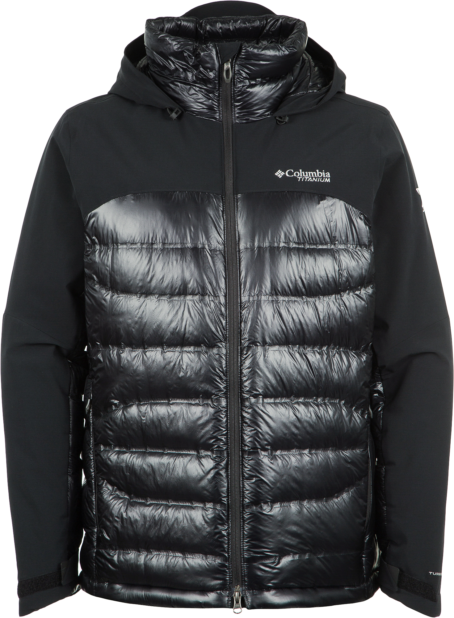Columbia Куртка пуховая мужская Heatzone 1000 TurboDown II, размер 46