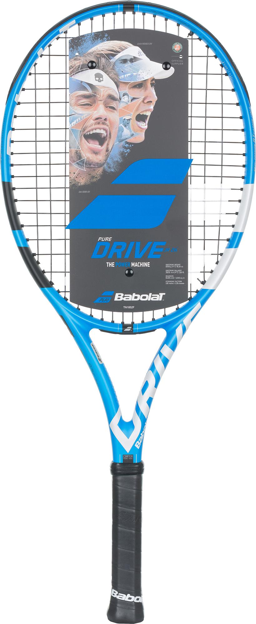 Babolat Ракетка для большого тенниса детская Babolat Pure Drive 26 babolat ракетка для большого тенниса детская babolat ballfighter 23