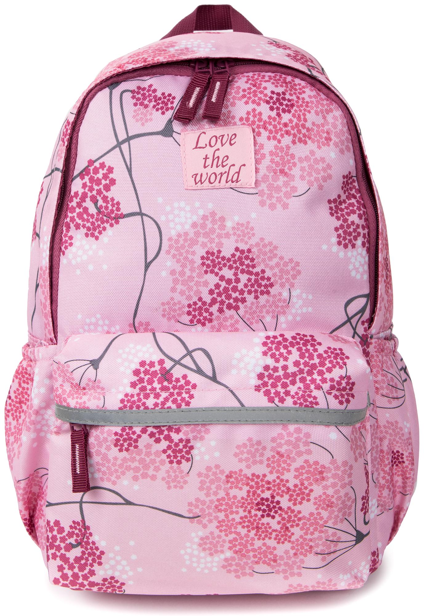 Outventure Рюкзак для девочек Outventure smjm средняя школьная сумка высокого качества жаккардовый легкий плечевой рюкзак для девочек pink daypack
