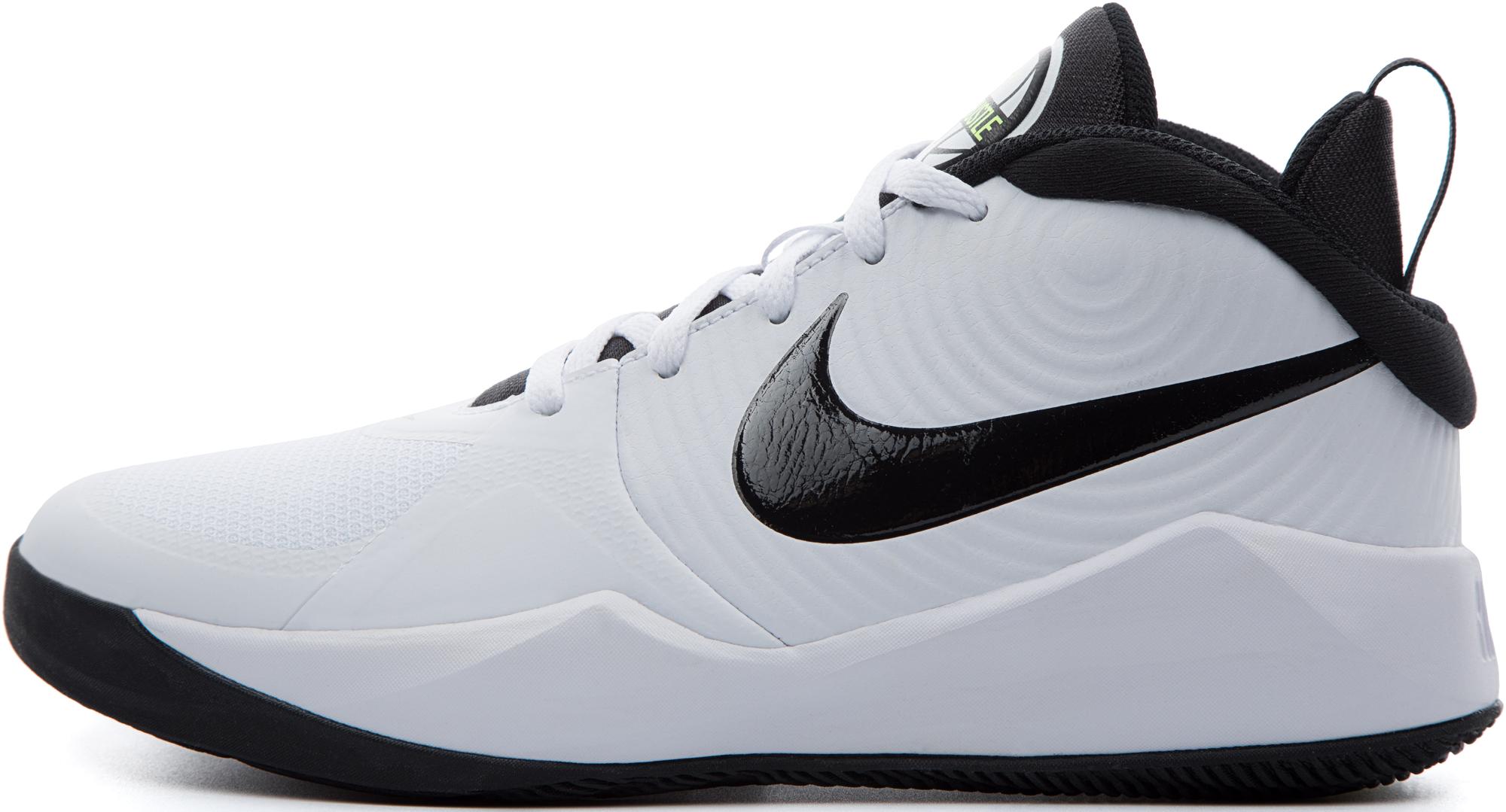 Nike Кроссовки для мальчиков Team Hustle D 9, размер 36,5