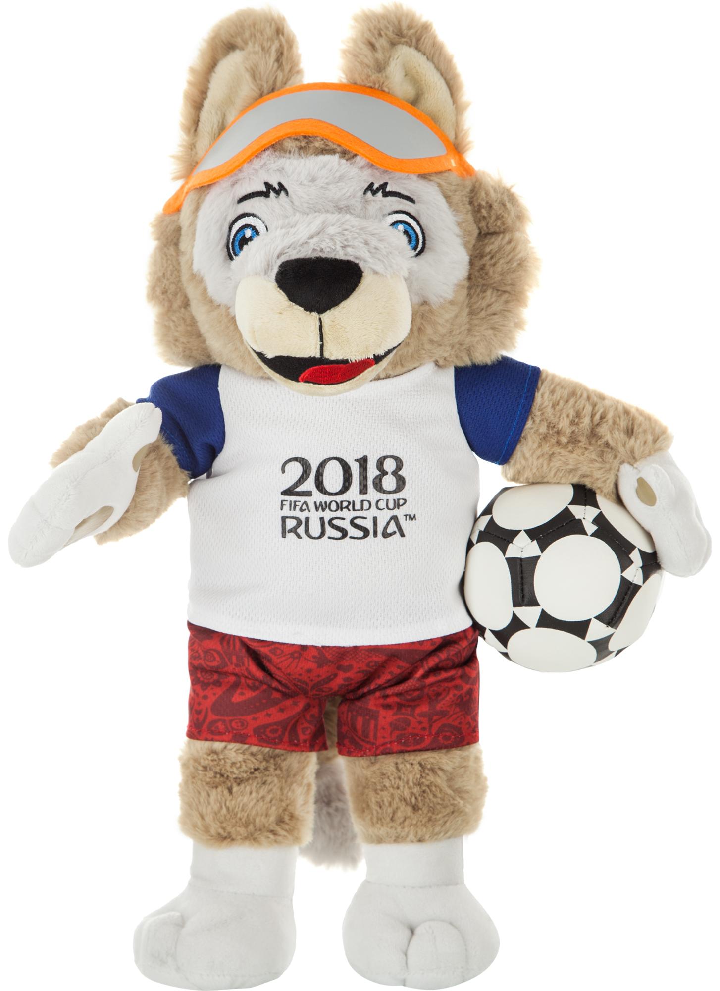 no brand Игрушка Волк Забивака 2018 FIFA World Cup Russia™, 33 см наклейки детские panini наклейки panini road to 2018 fifa world cup russia tm