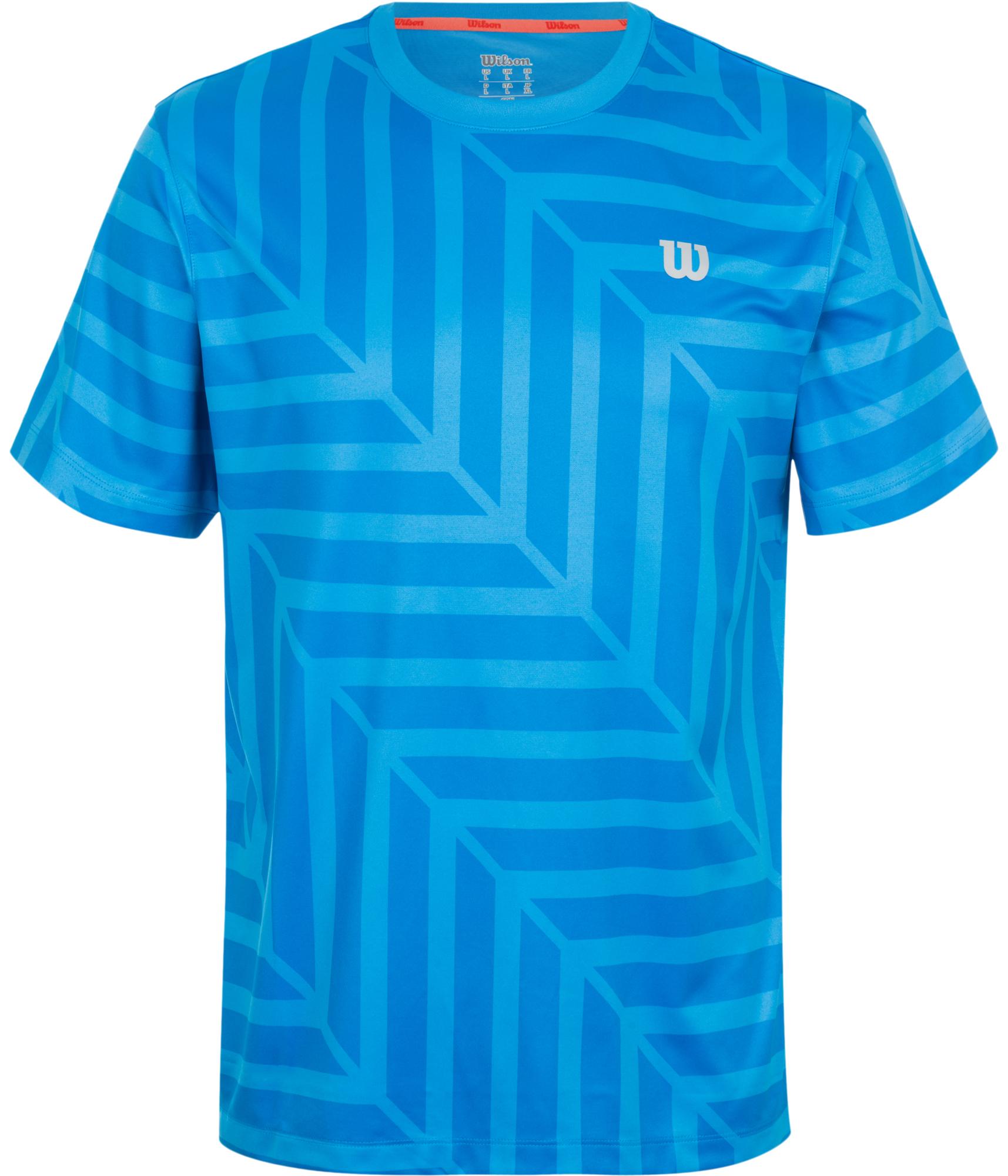 Wilson Футболка мужская Wilson футболка спортивная wilson wilson wi002empvn42