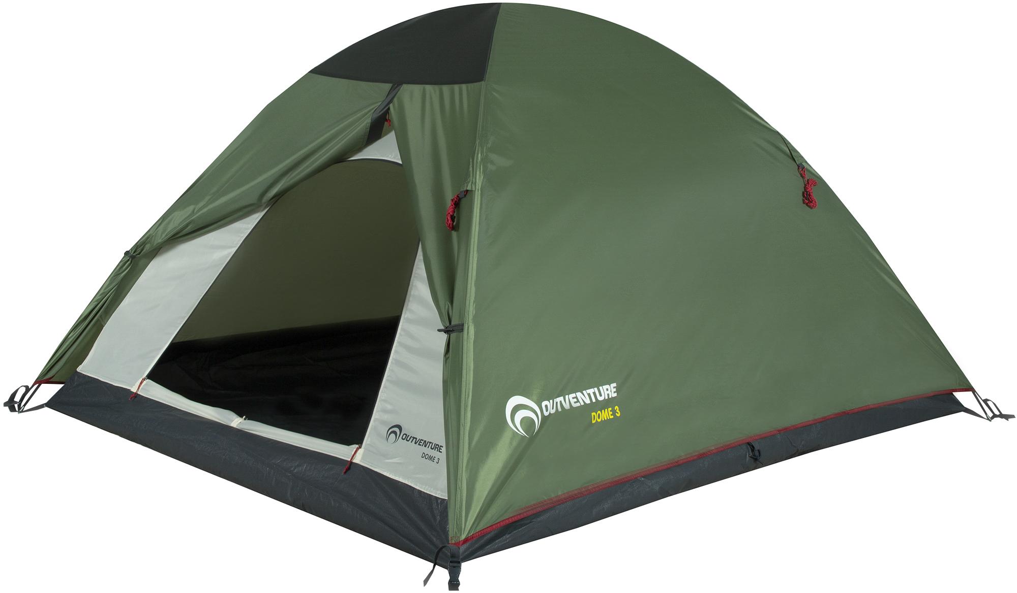 Фото - Outventure DOME 3 палатка greenhouse fct 32 трехместная