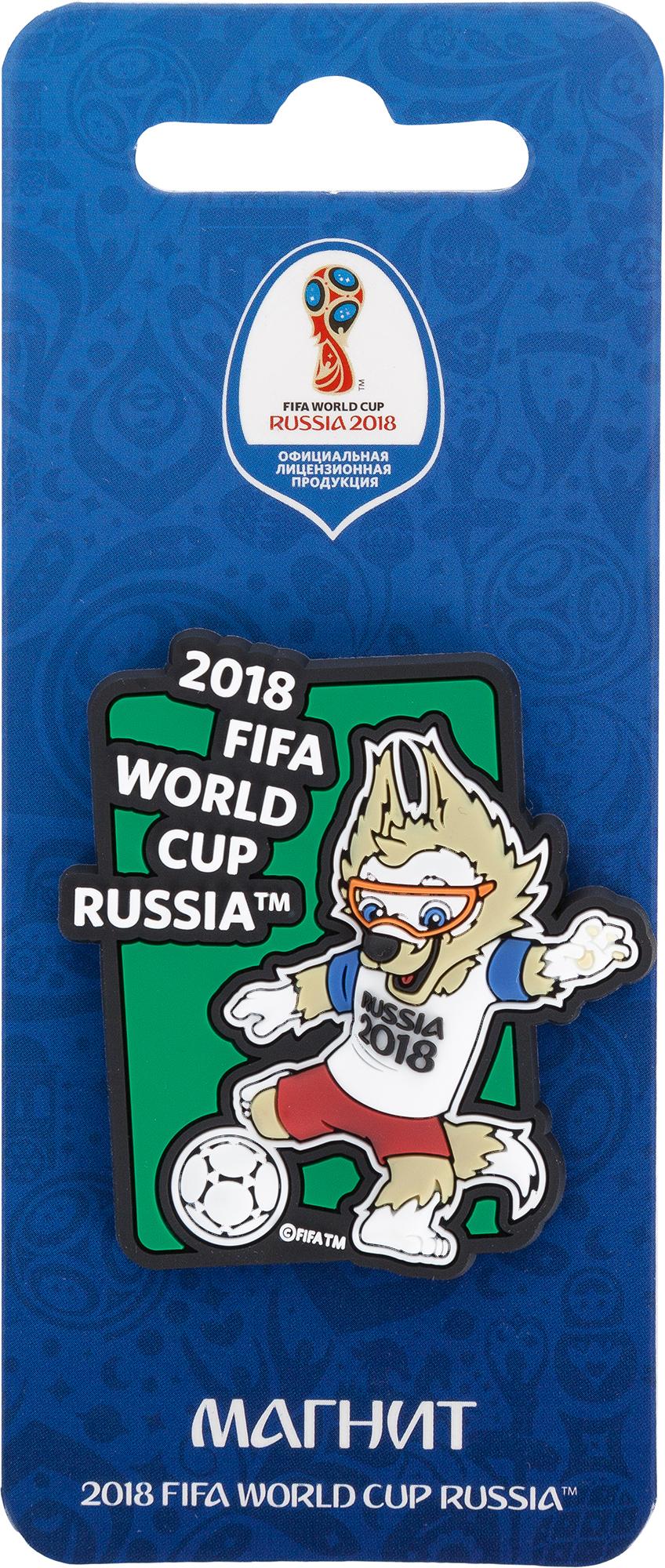 no brand Магнит 2018 FIFA World Cup Russia™ Забивака Удар!