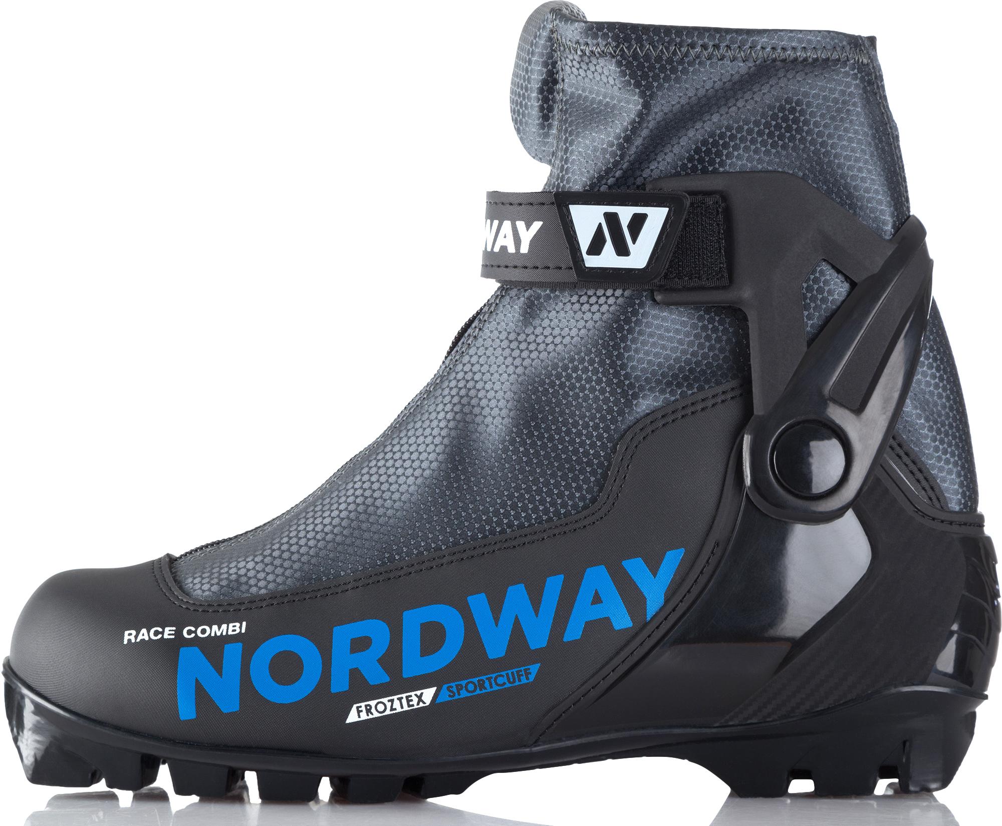 Nordway Ботинки для беговых лыж Nordway Race Combi цены