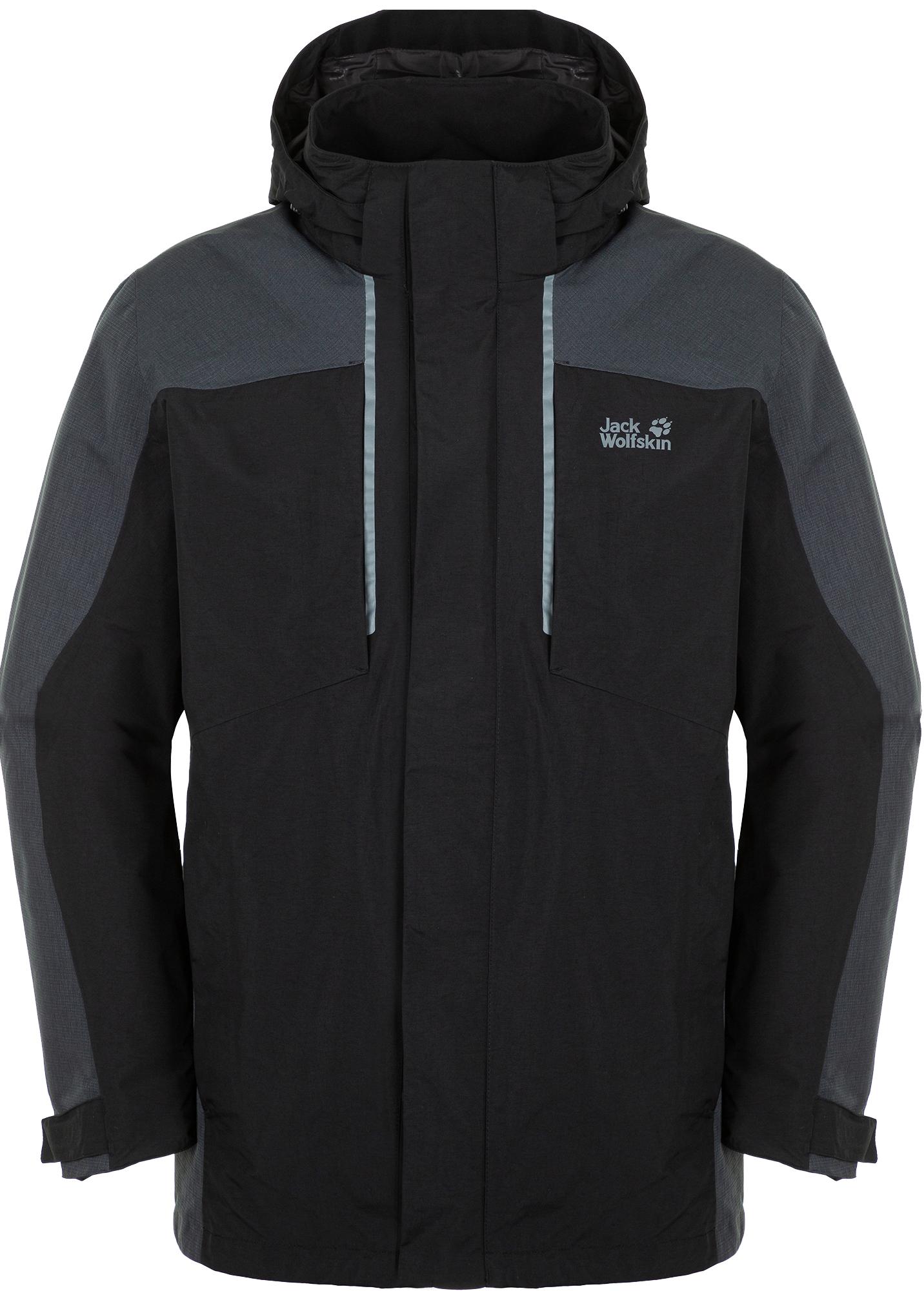 лучшая цена Jack Wolfskin Куртка 3 в 1 мужская Jack Wolfskin Viking Sky, размер 58