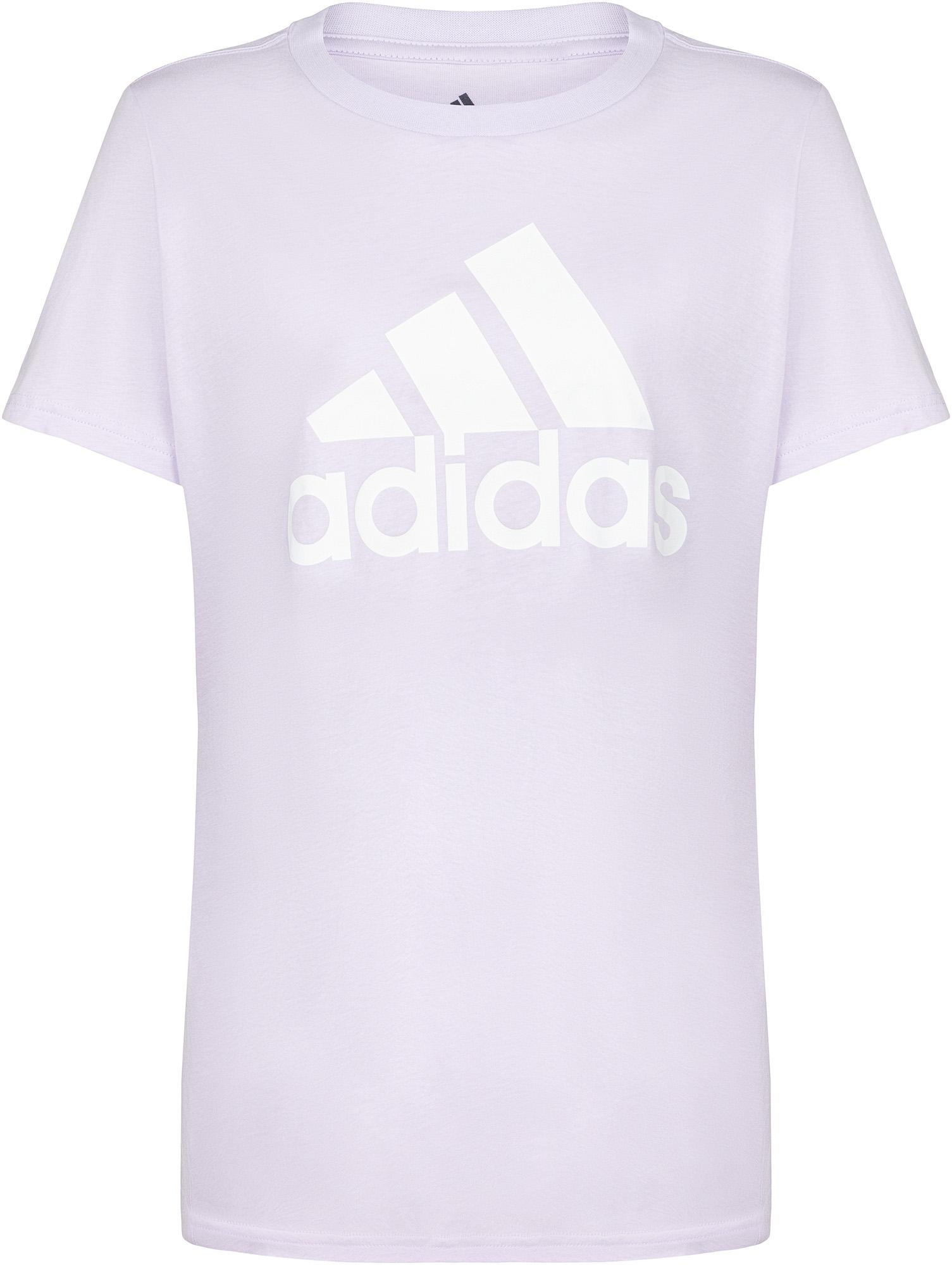 Adidas Футболка женская adidas Badge of Sport, Plus Size, размер 54-56