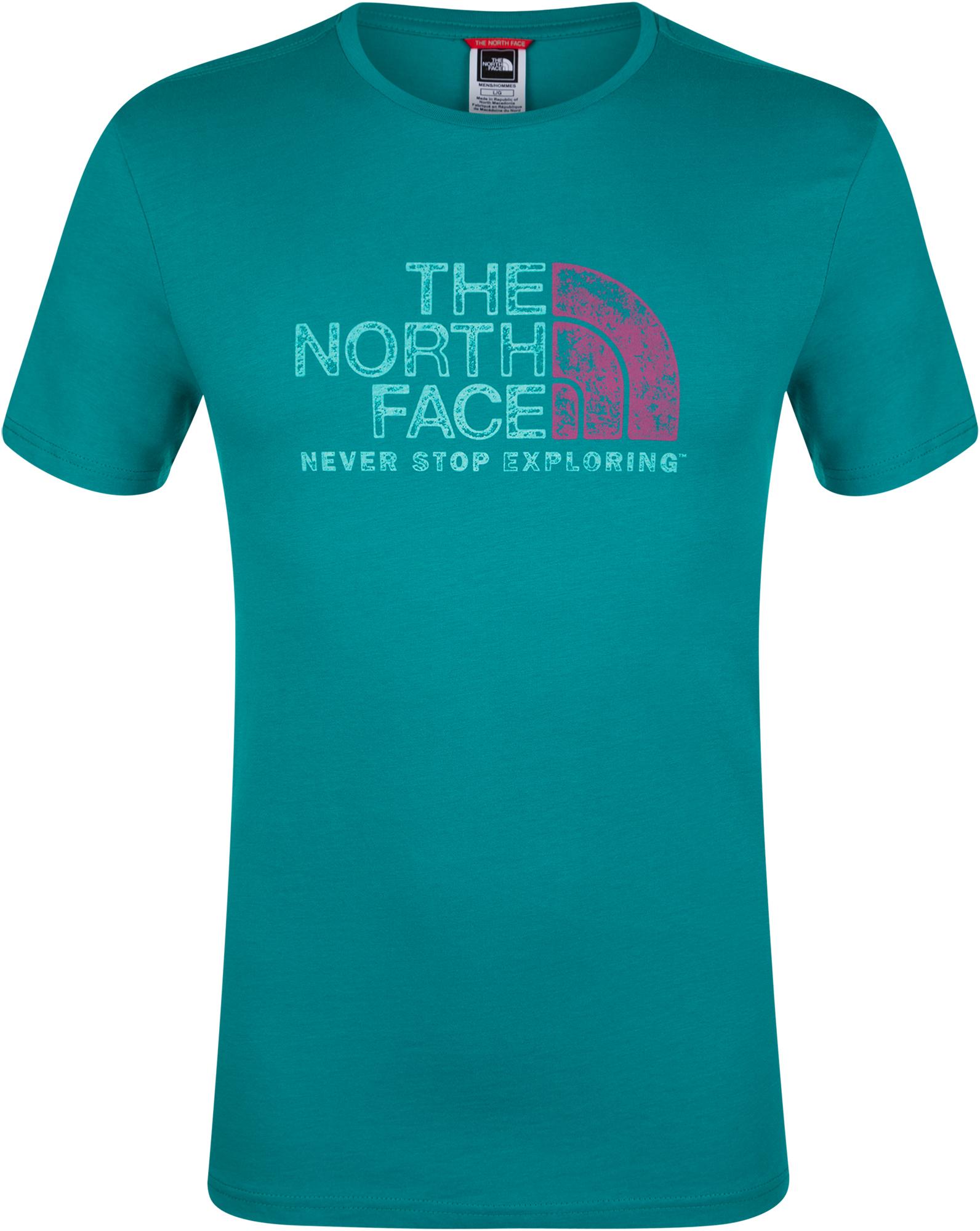 цена The North Face Футболка мужская The North Face Rust 2, размер 50 онлайн в 2017 году