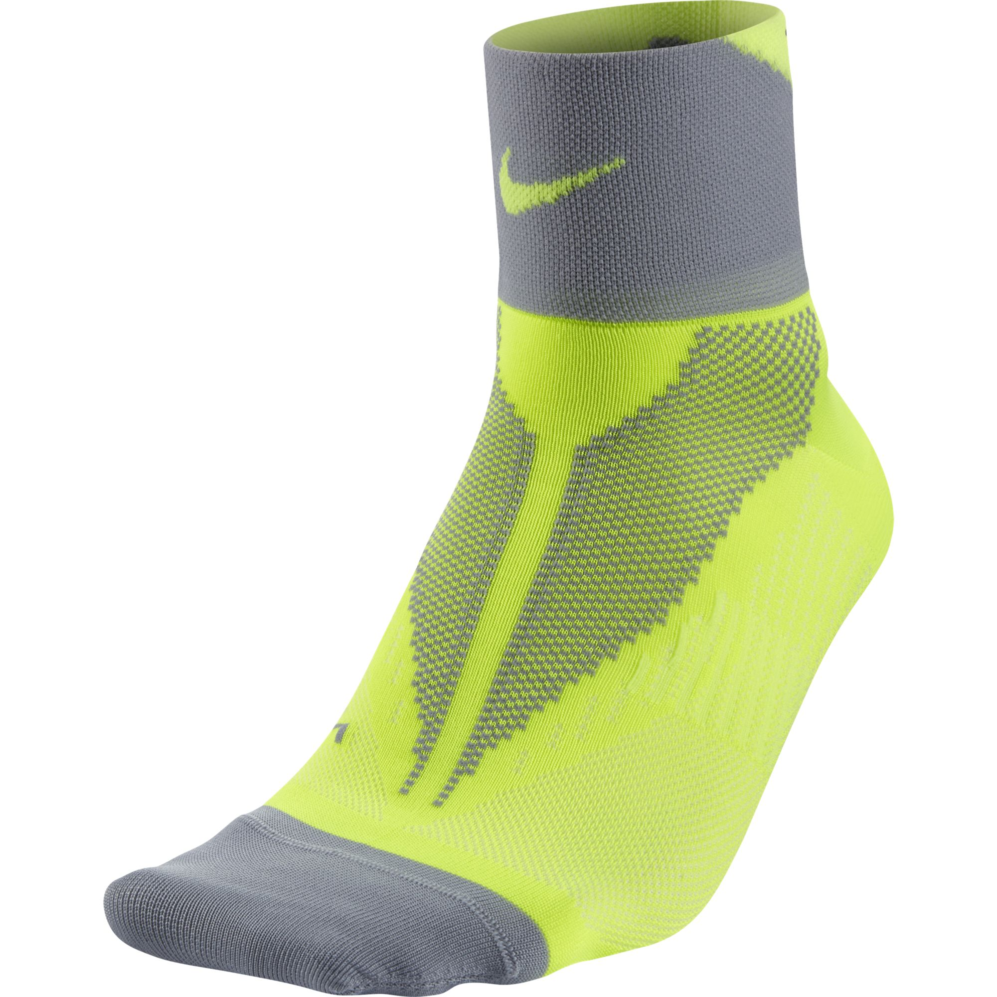 Nike Носки Nike Elite Run Lightwght Quarter, 1 пара чулок д щитков nike guard lock elite sleeve su12 se0173 011 m чёрный