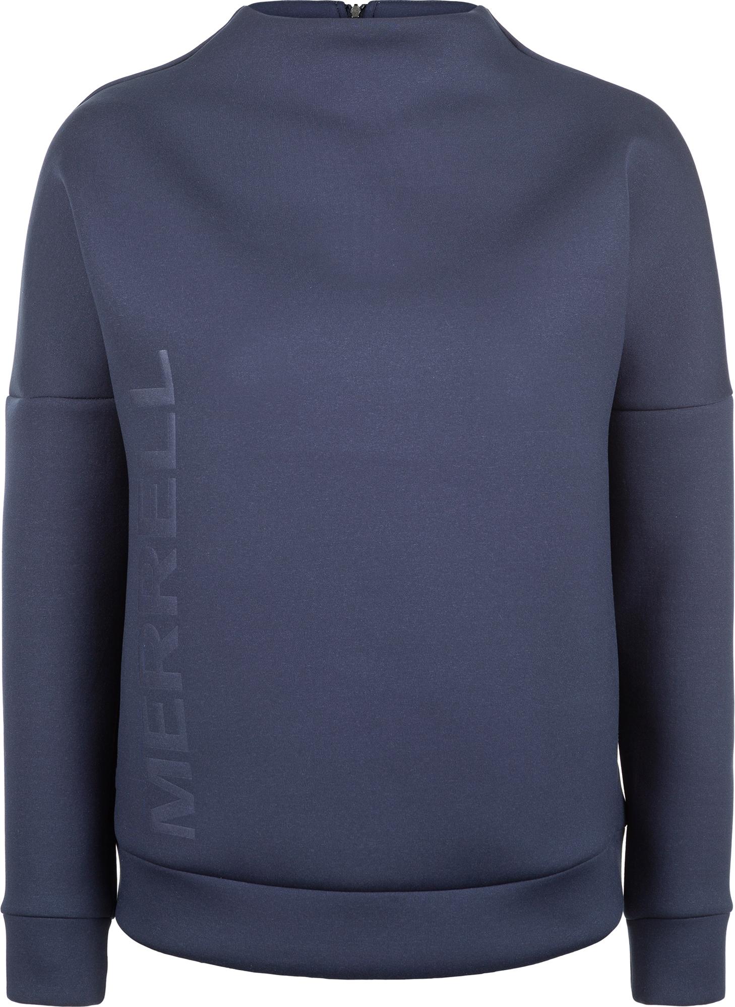 Merrell Свитшот женский Merrell, размер 42 пуховик женский merrell women s jacket цвет петроль a19amrjaw02 s3 размер 46