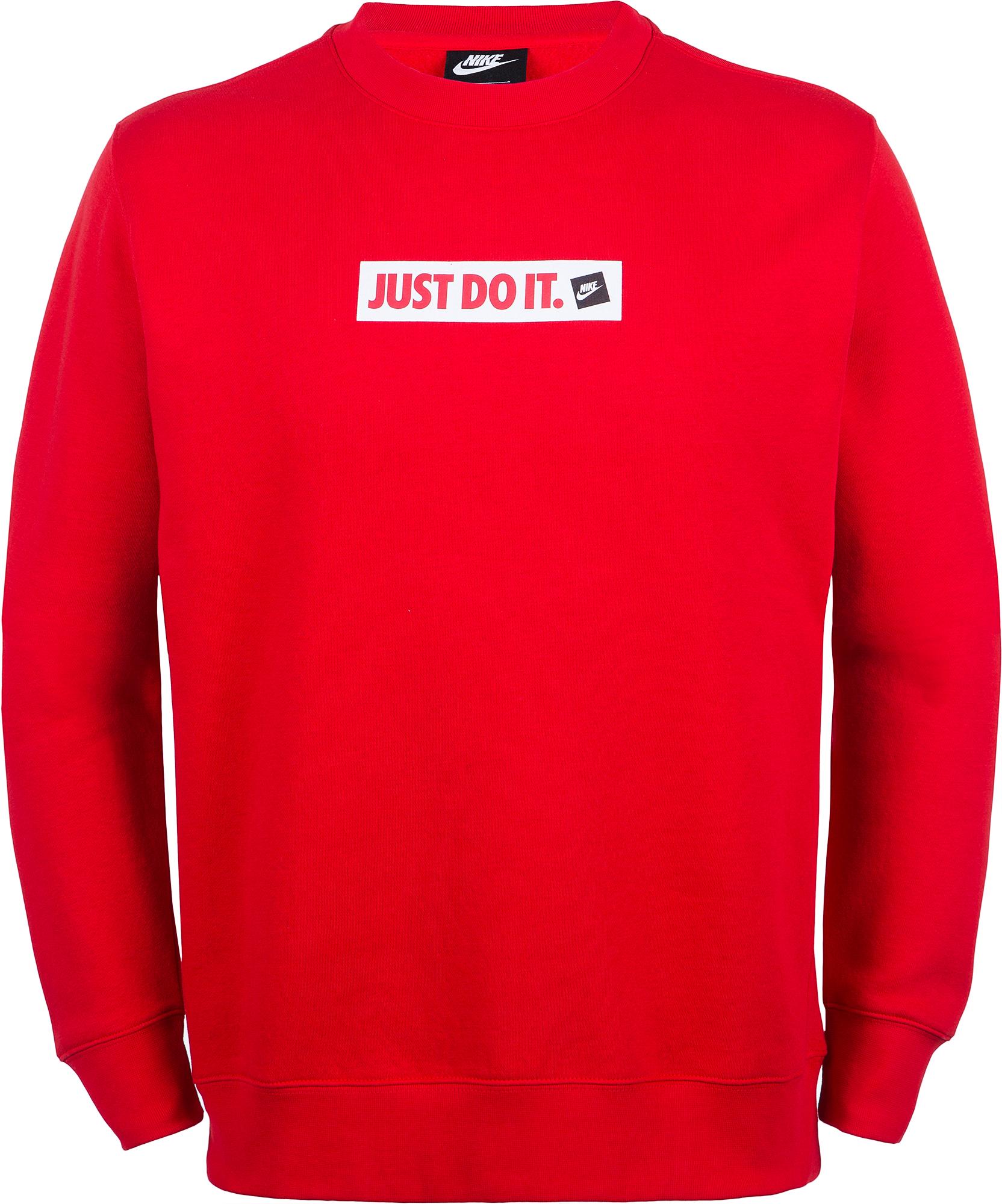 Nike Свитшот мужской JDI Crew, размер 52-54