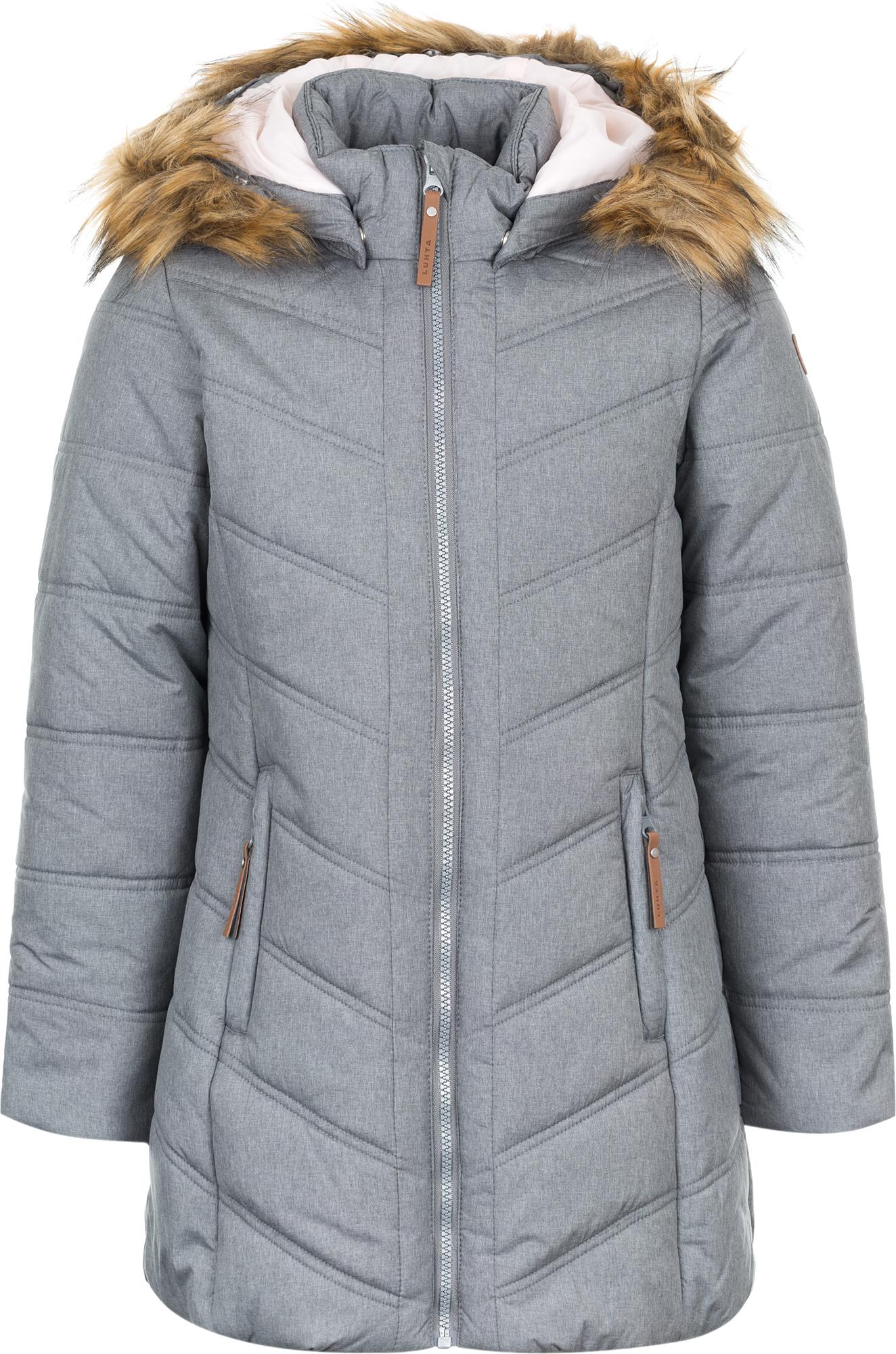 Luhta Пальто для девочек Luhta Kitte олимпийка luhta luhta lu692emnal02