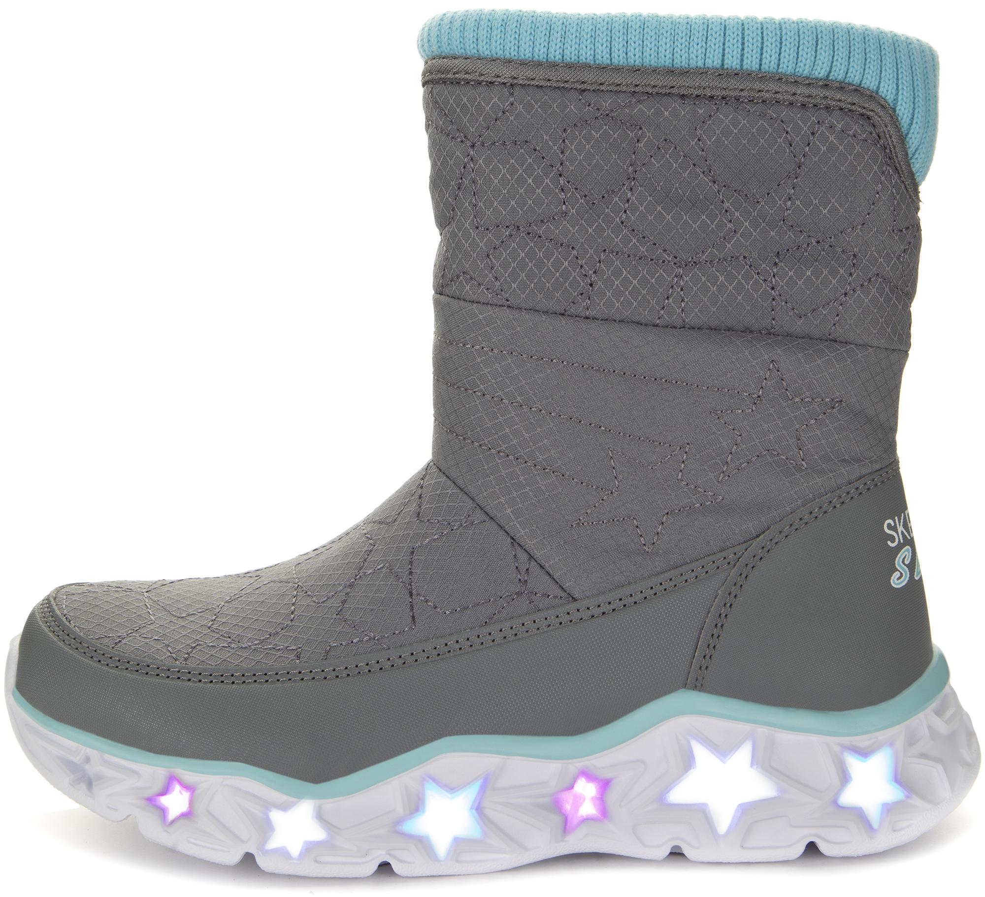 Skechers Сапоги для девочек Galaxy Lights-Star Brights, размер 33