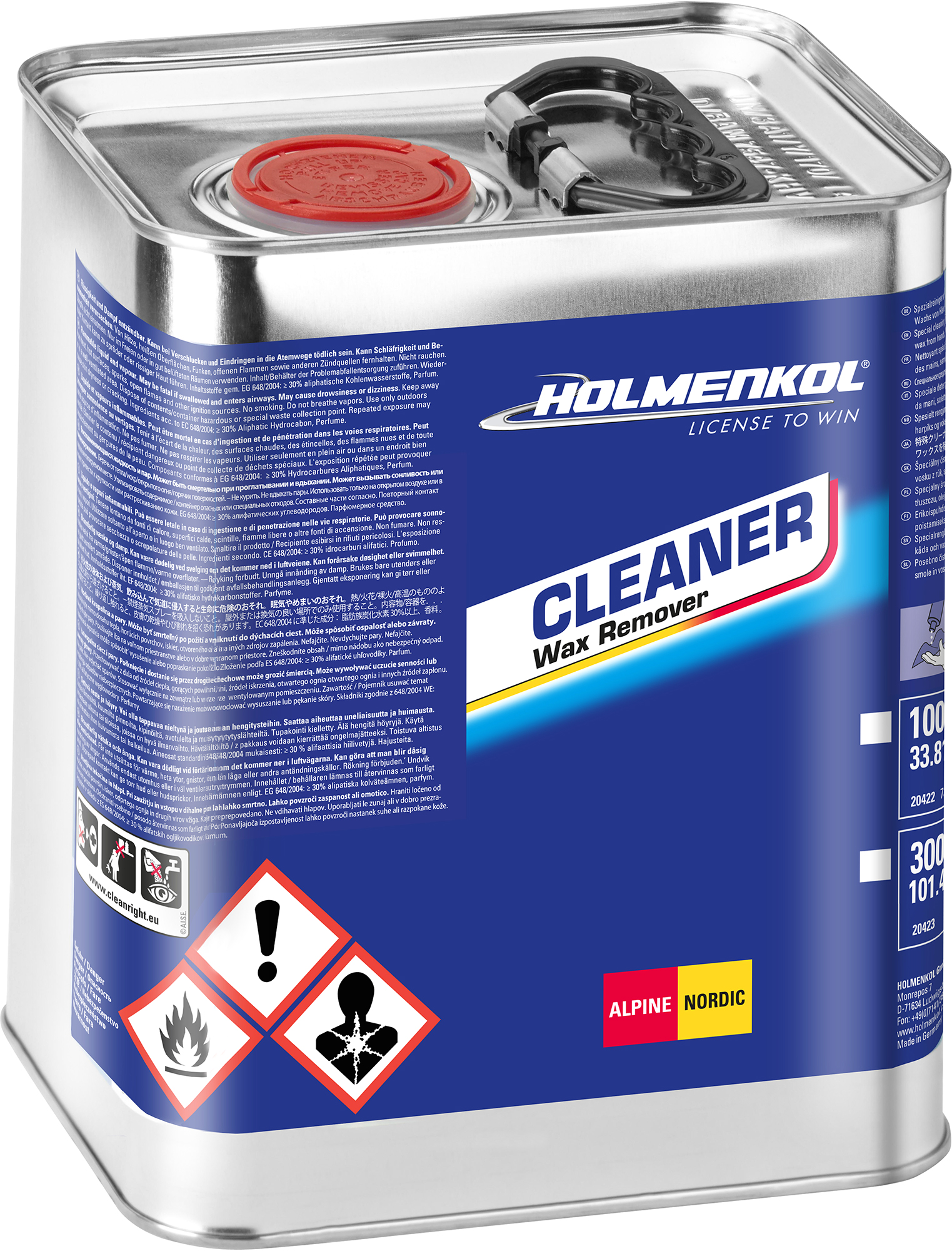 Holmenkol Смывка HOLMENKOL Cleaner цены онлайн