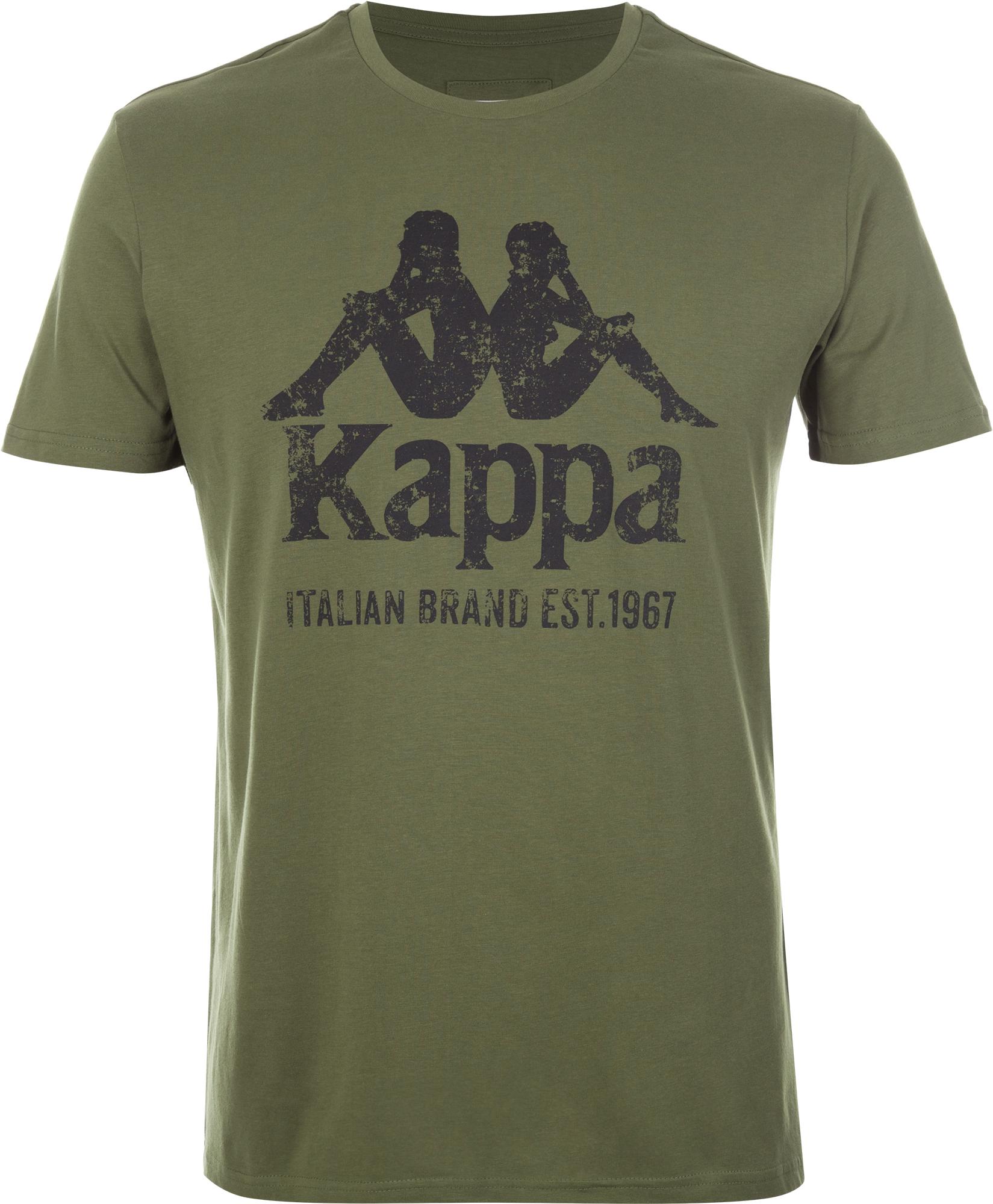 Kappa Футболка мужская Kappa, размер 52 цена 2017